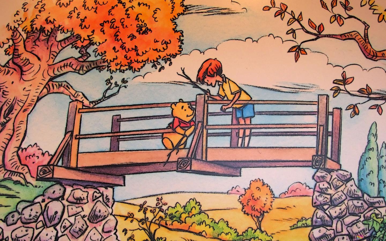 Ursinho Pooh Desenho Animado Hd Wallpaper Download