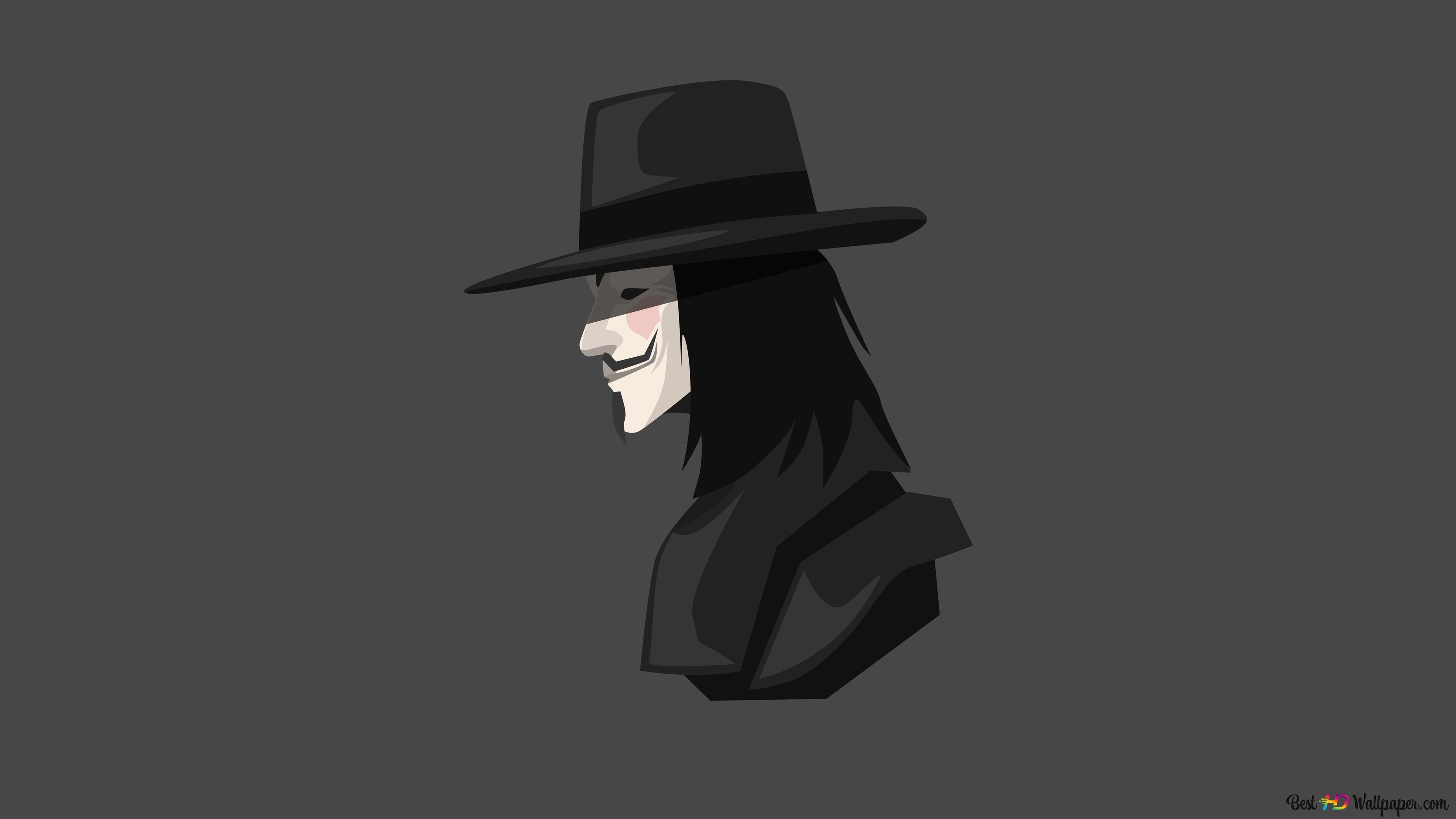 V For Vendetta Hd Wallpaper Download