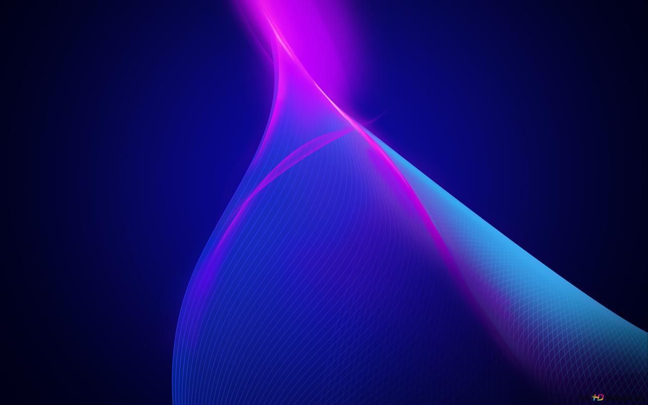 vagues bleu foncé HD fond d'écran télécharger