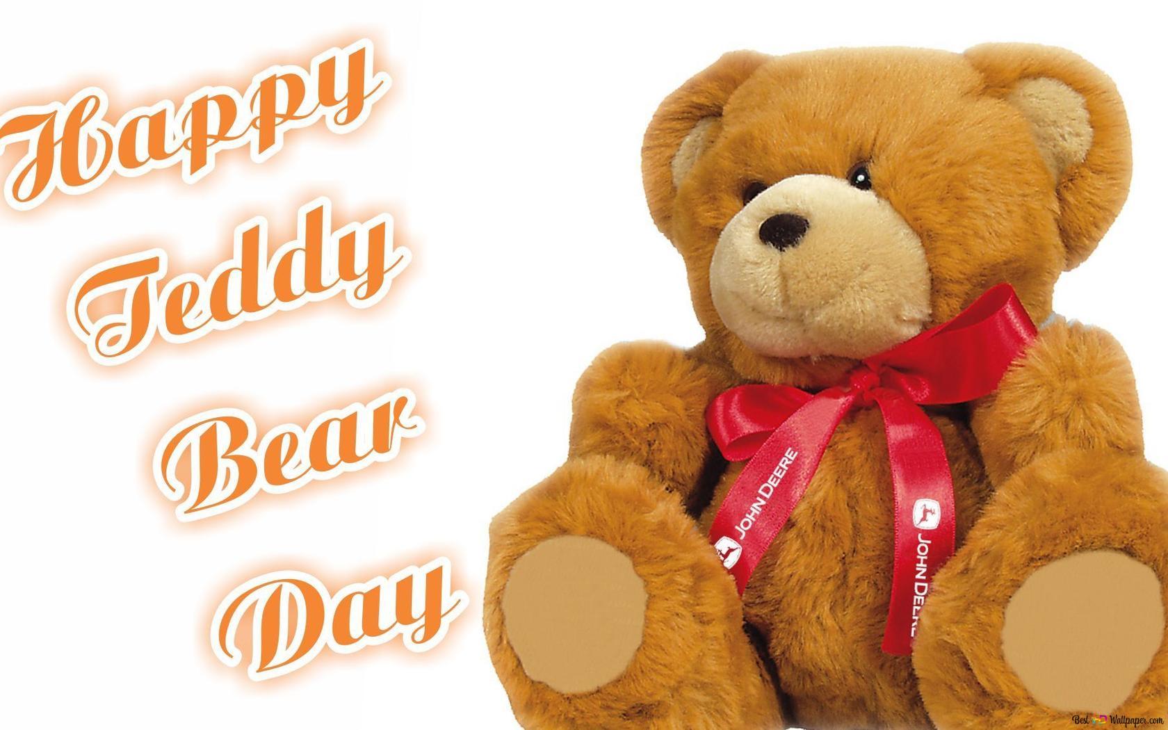 Valentine S Day Cute Teddy Bear Toy Hd Wallpaper Download