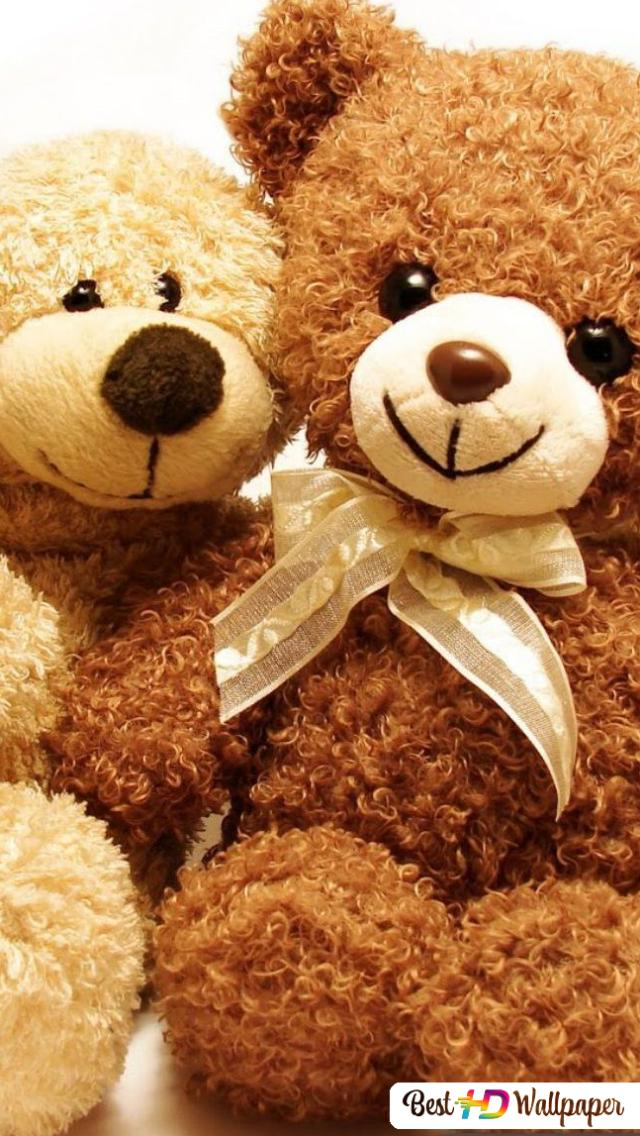Valentine S Day Cute Teddy Bears Hd Wallpaper Download
