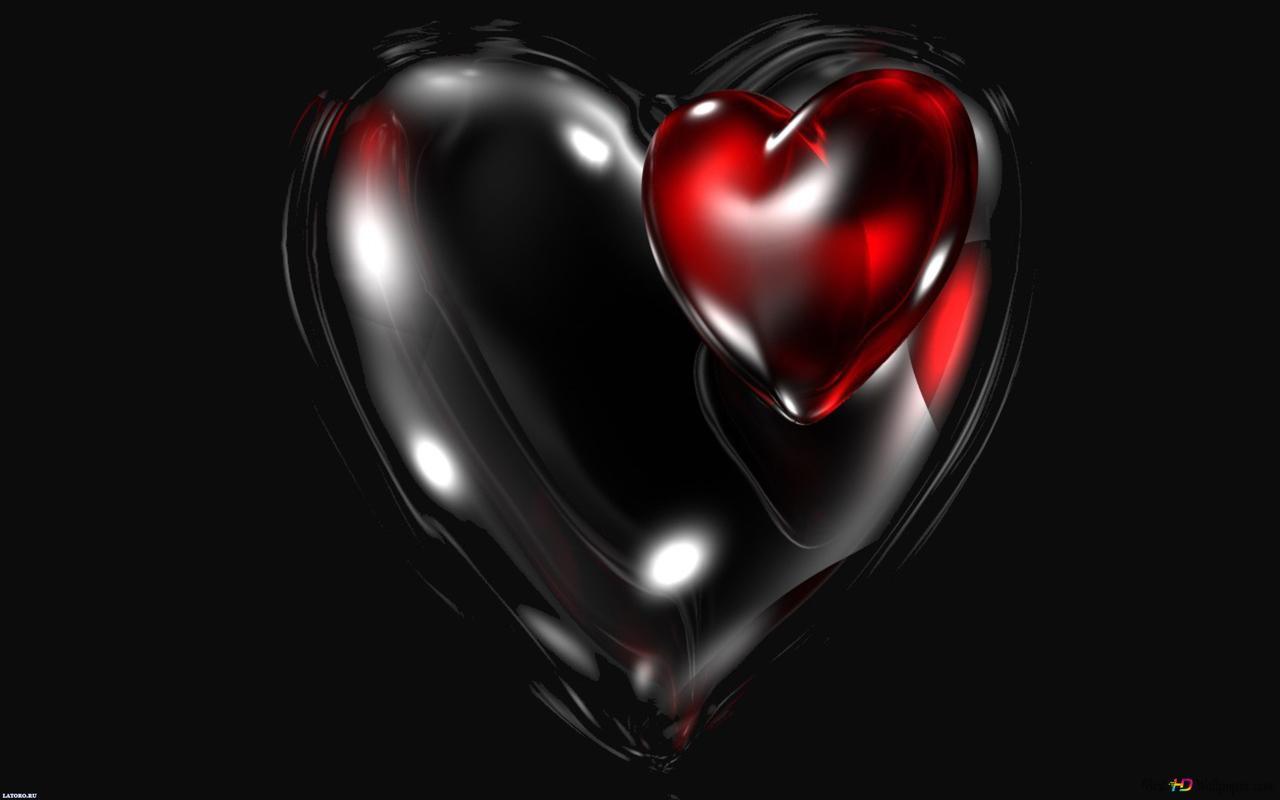 dark heart HD wallpaper ...