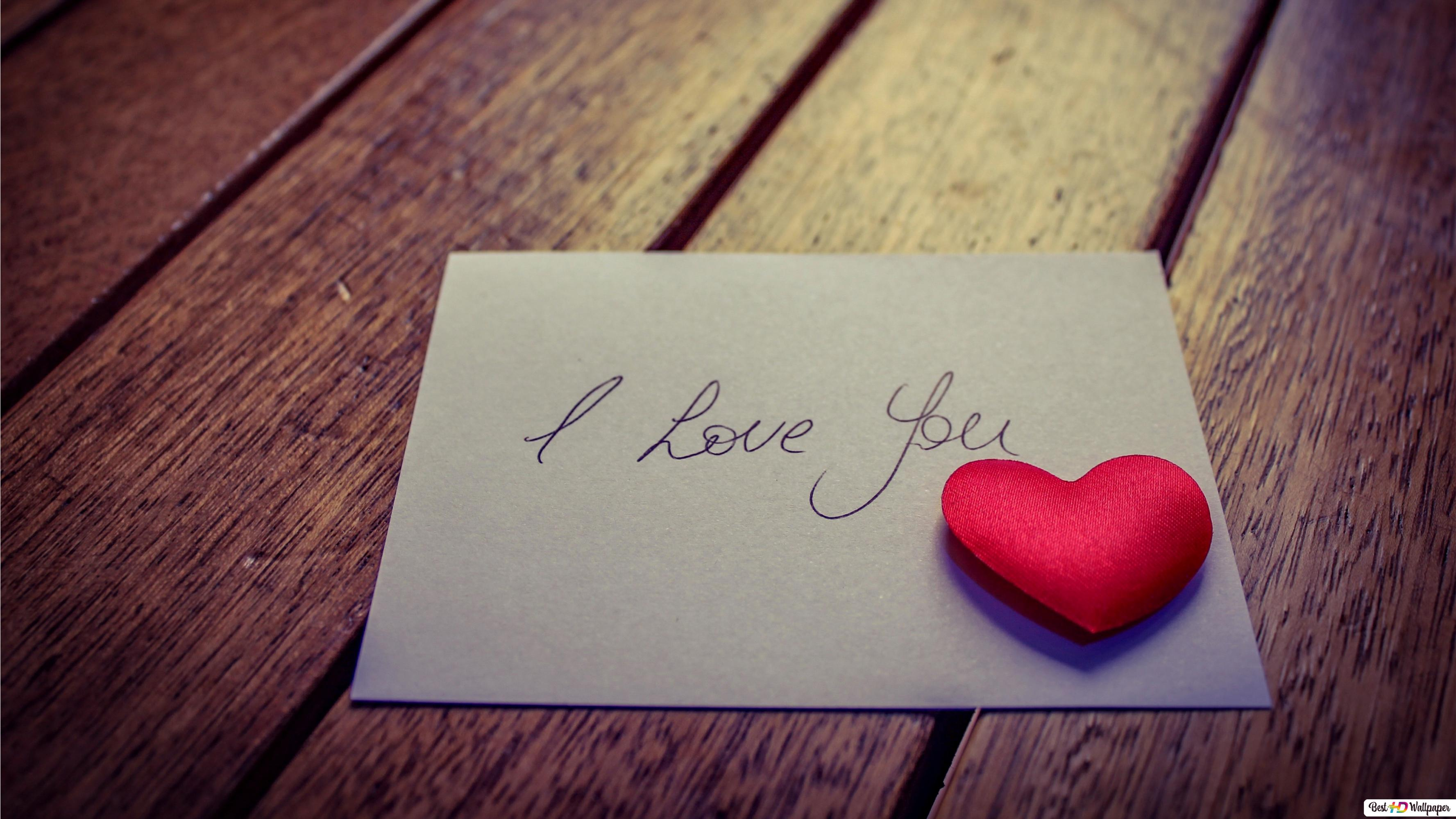 Valentine S Day Love Letter Note Hd Wallpaper Download