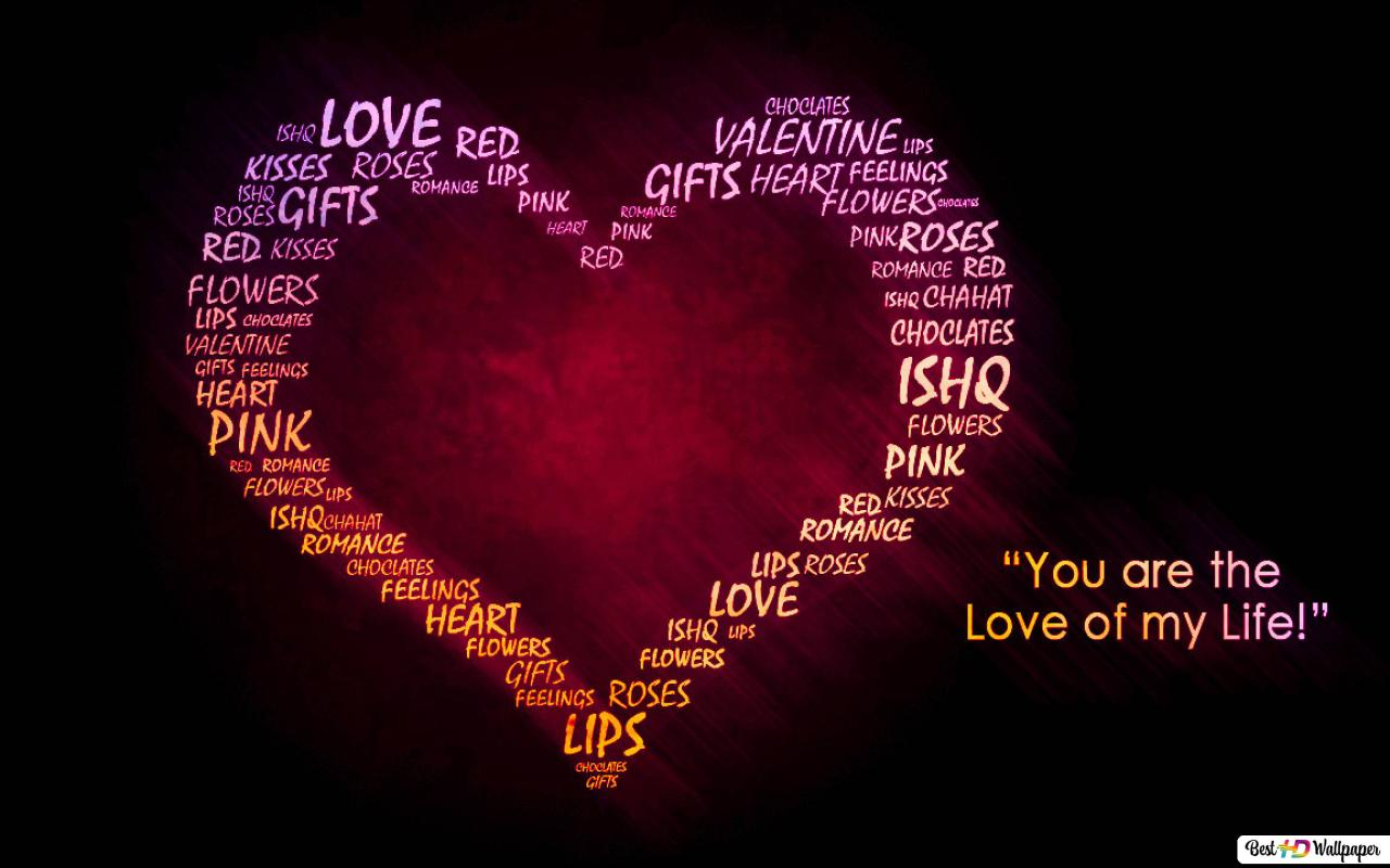 Valentine S Day Loves Quotes Hd Wallpaper Download