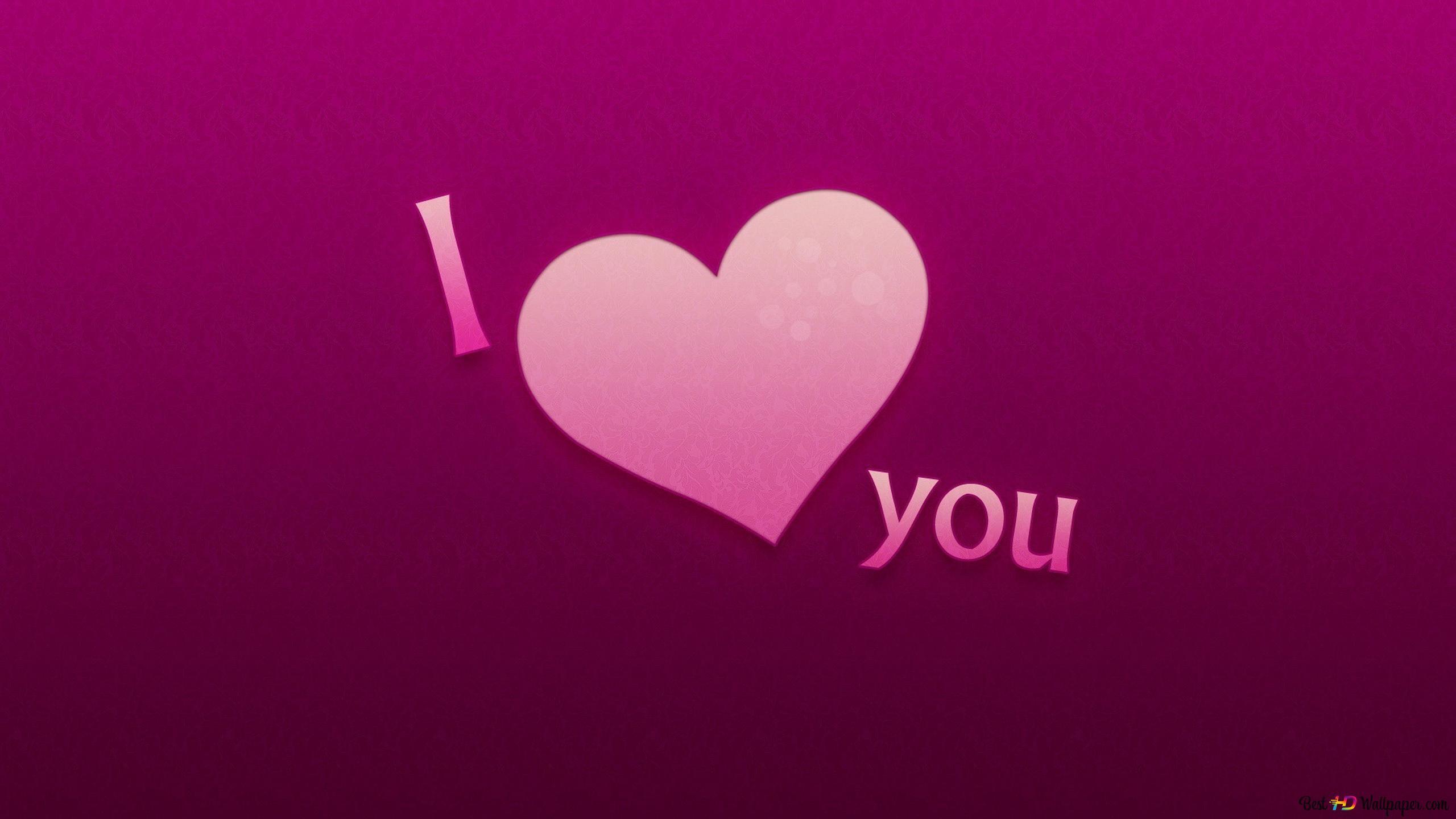 Valentine S Day Pink Love Background Hd Wallpaper Download