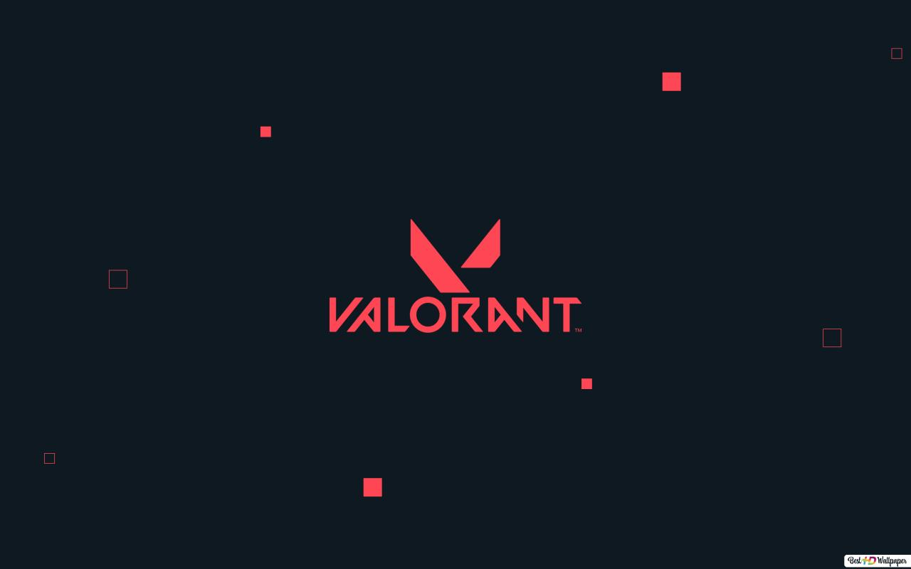 Valorant 4k Logo Hd Wallpaper Download