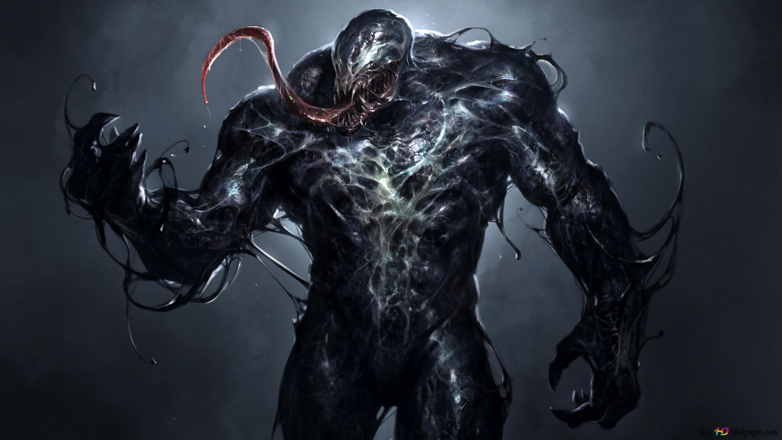 Venom Marvel Hd Hintergrundbilder Herunterladen