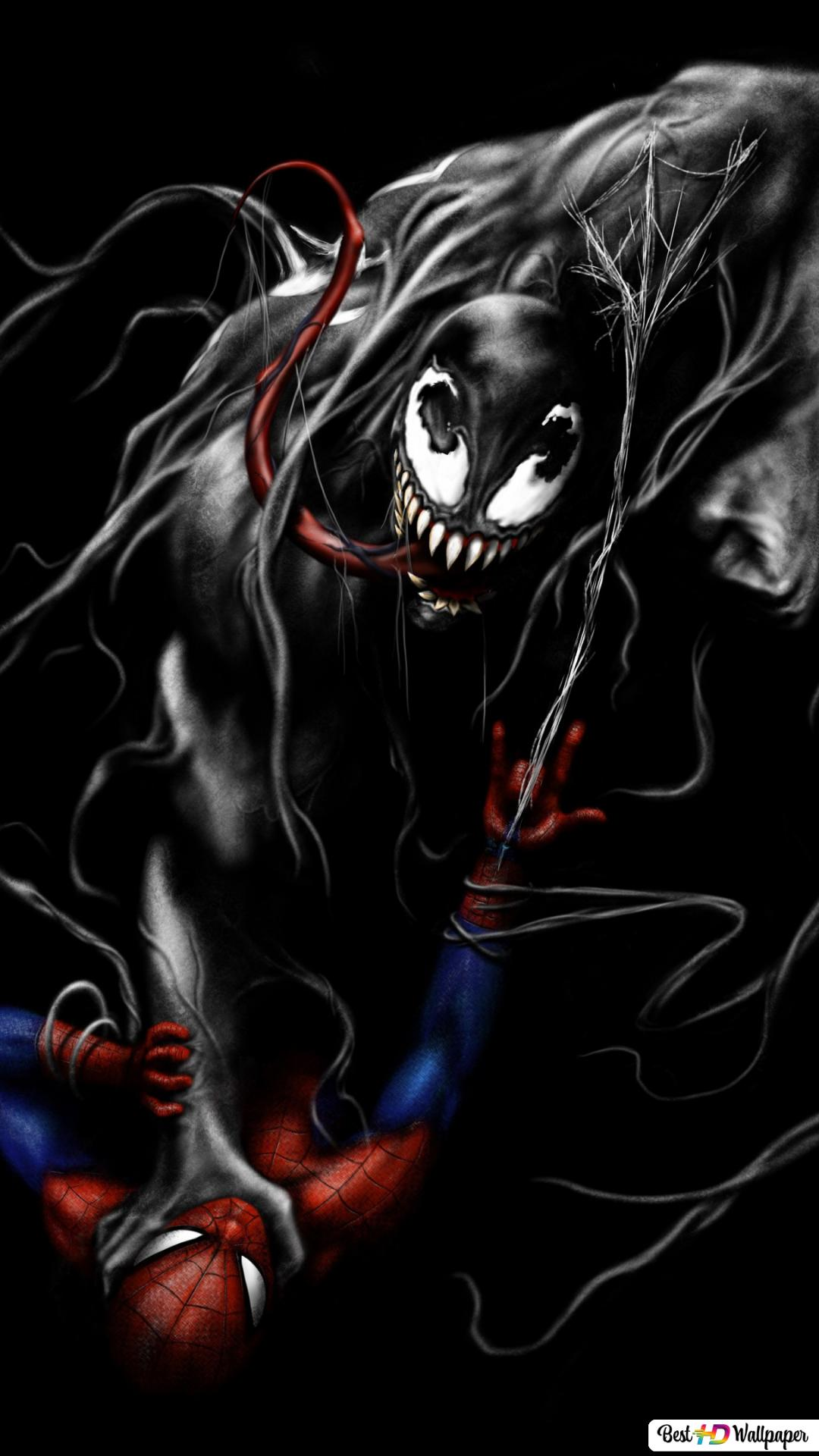 Venom Take Over Spider Man Hd Wallpaper Download