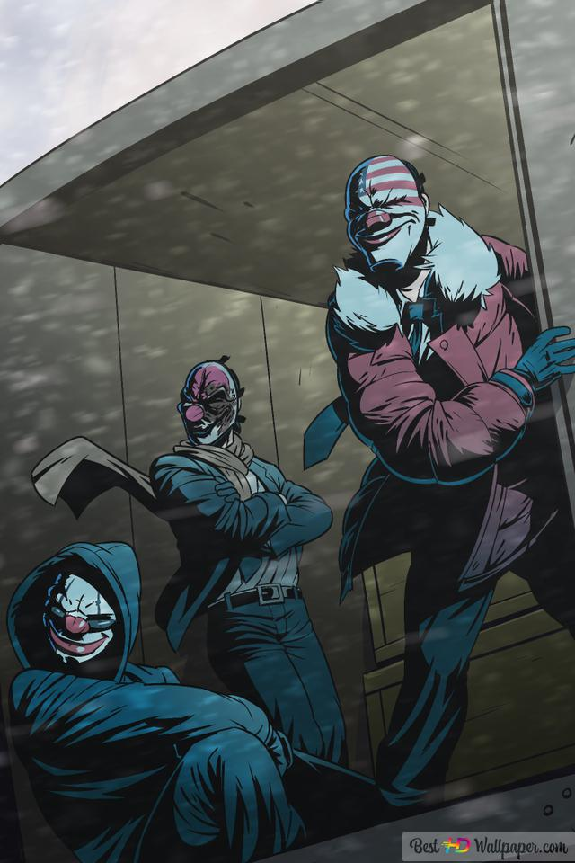 Video Game Payday 2 Hd Wallpaper Download