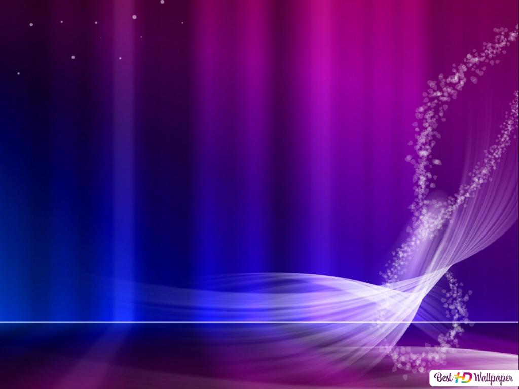 Vista Blue Purple Aurora Hd Wallpaper Download