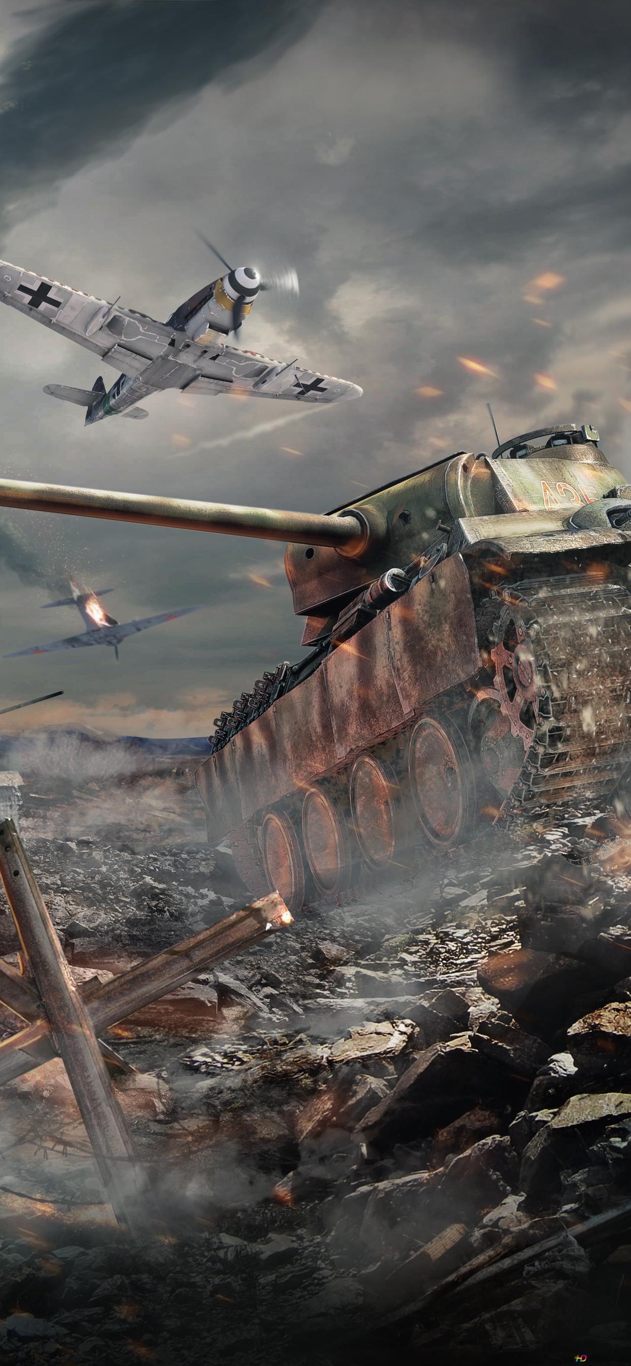 War Thunder Game Tanks Battle Hd Wallpaper Download