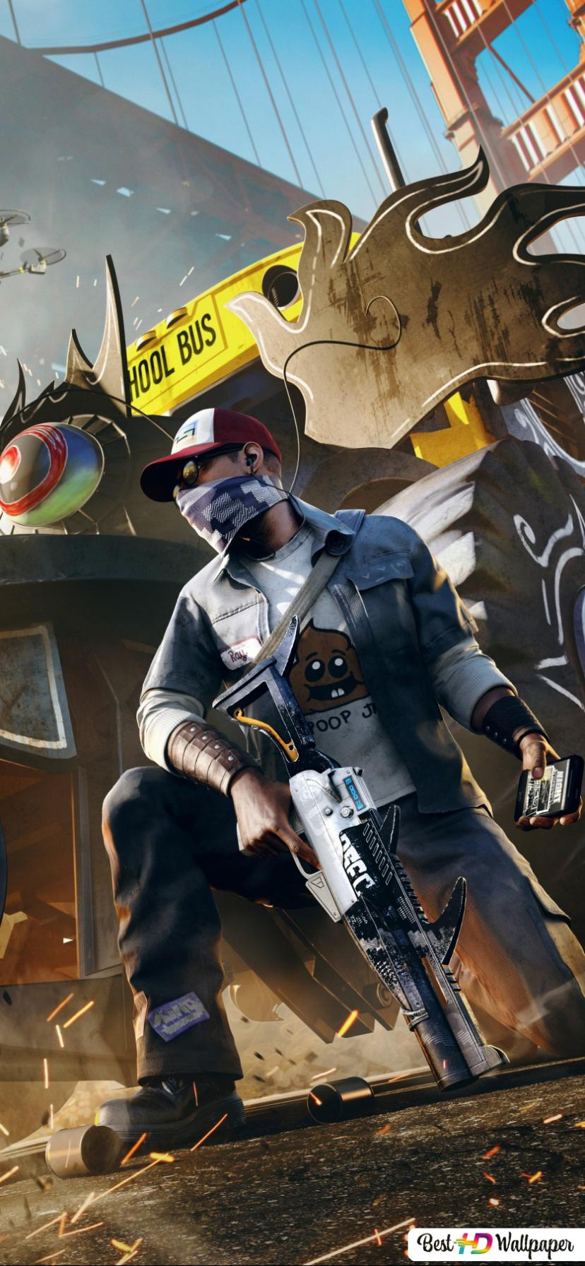 Watch dogs game marcus holloway wallpaper download jpg 828x1792 Game watch  cosplay hat marcus dogs e72d07ebd20e2