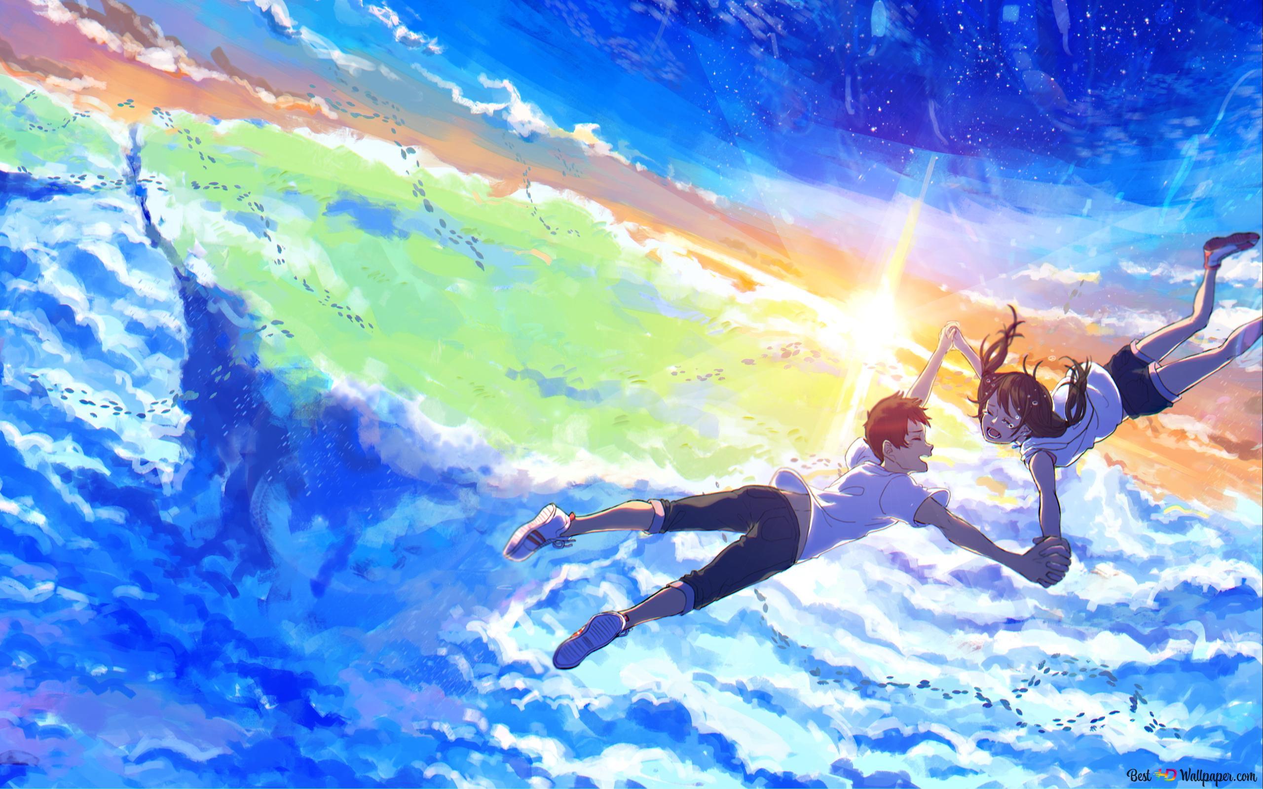 Weathering With You Hina Amano Hodaka Morishima Wallpaper 4 Hd