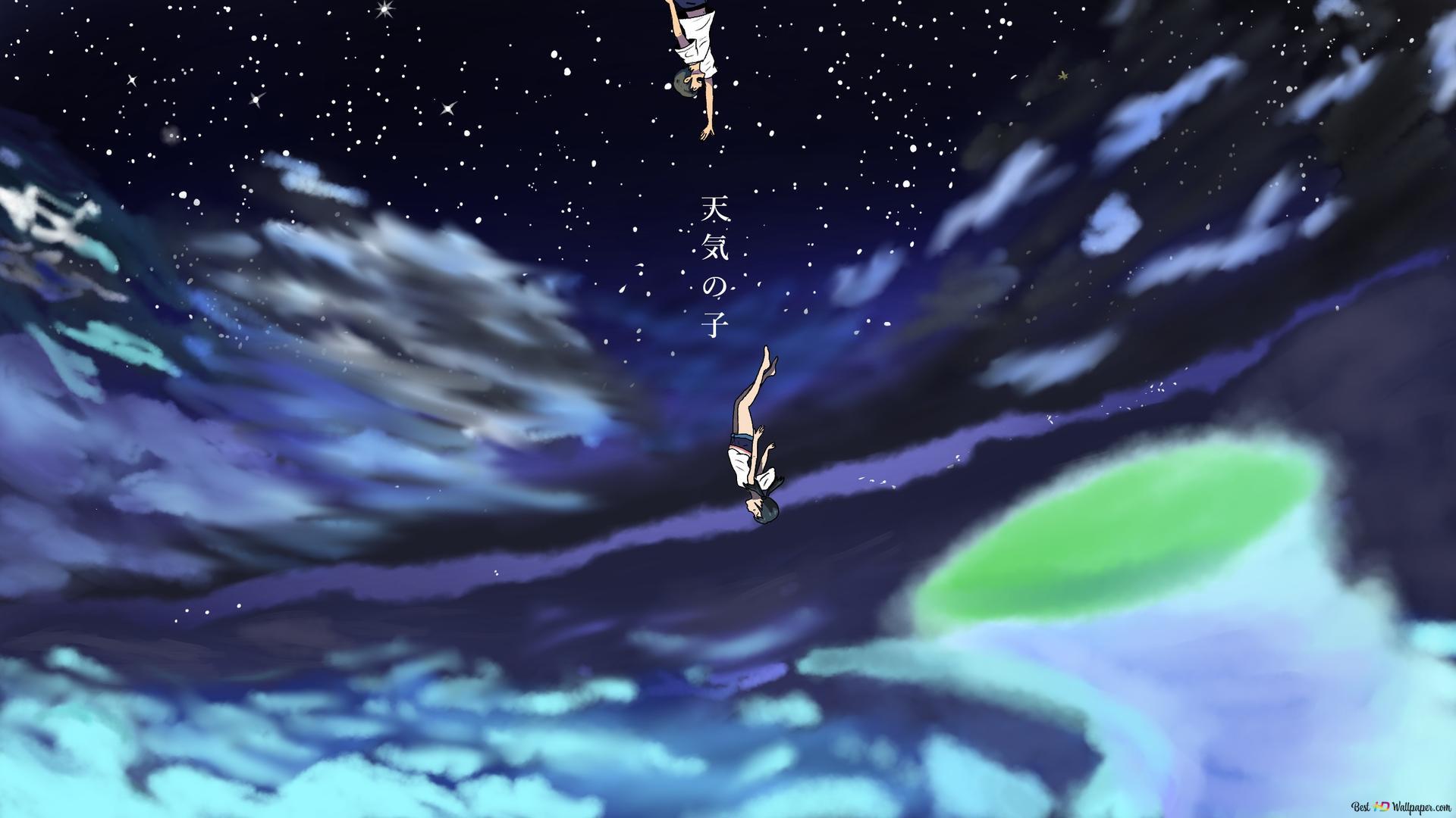 Weathering With You Hodaka Morishima Hina Amano Hd Wallpaper Download