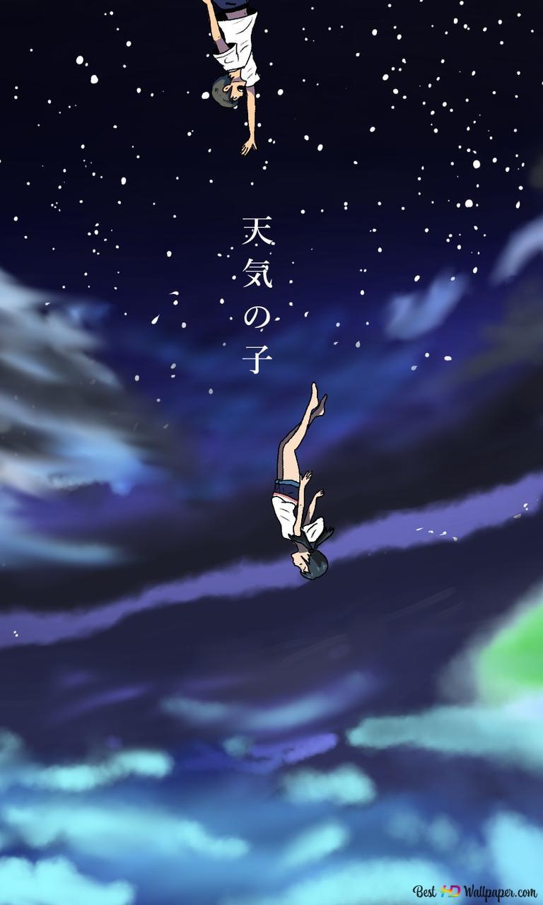 Weathering With You Hodaka Morishima Hina Amano Hd Wallpaper