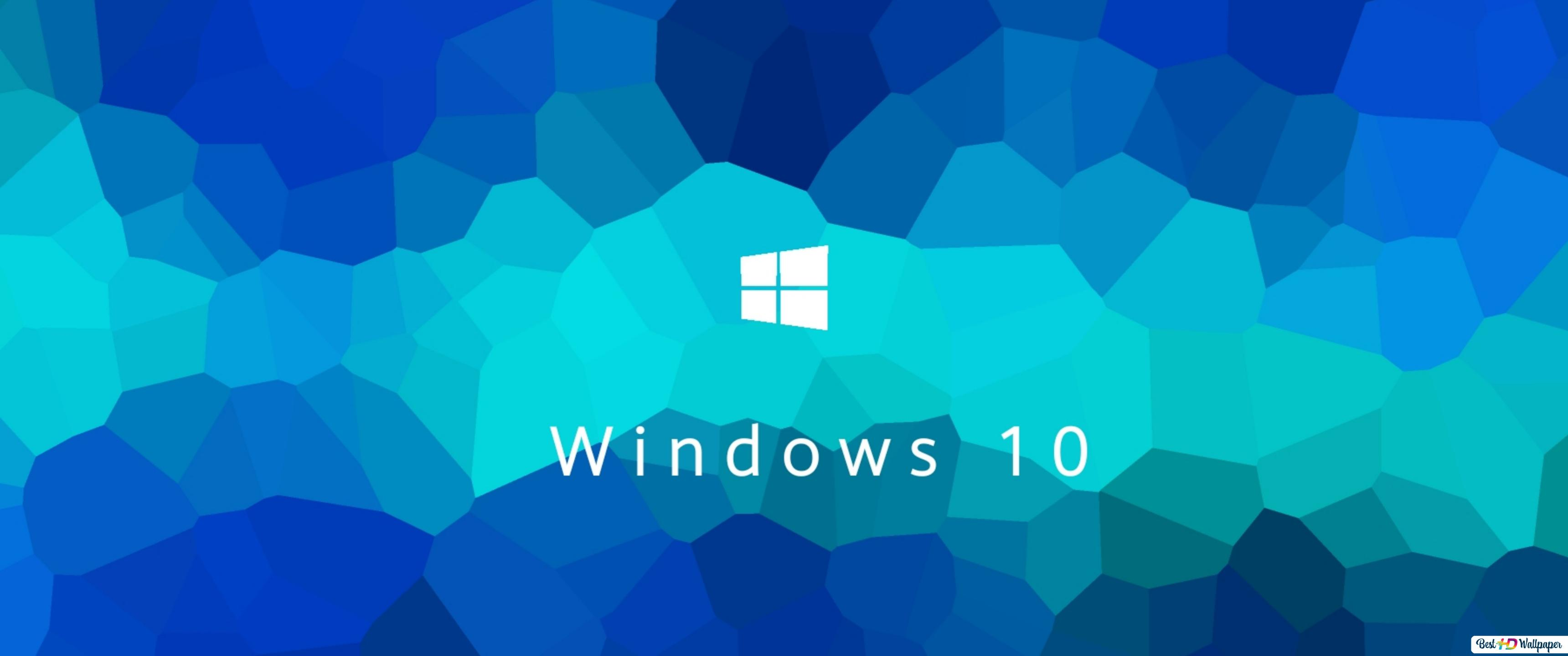 Windows 10 In New Blue Hd Wallpaper Download