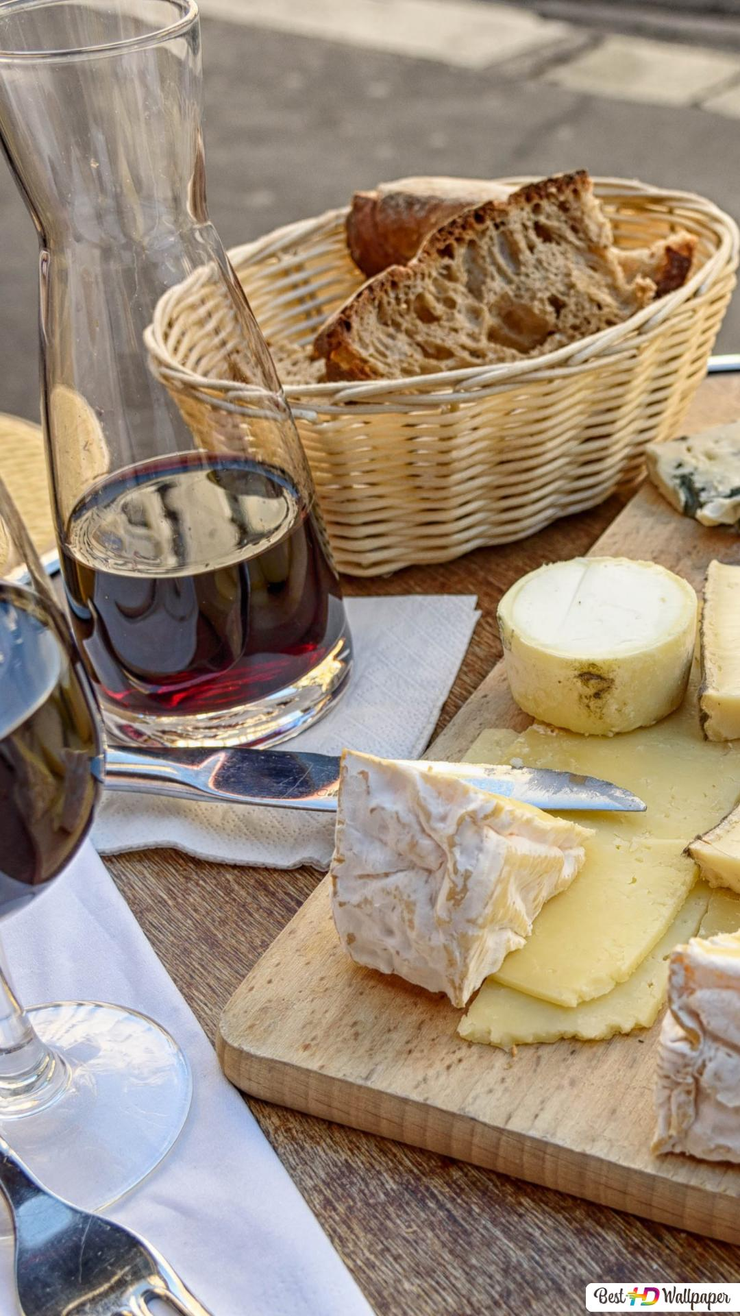 Wine And Cheese Hd Wallpaper Download
