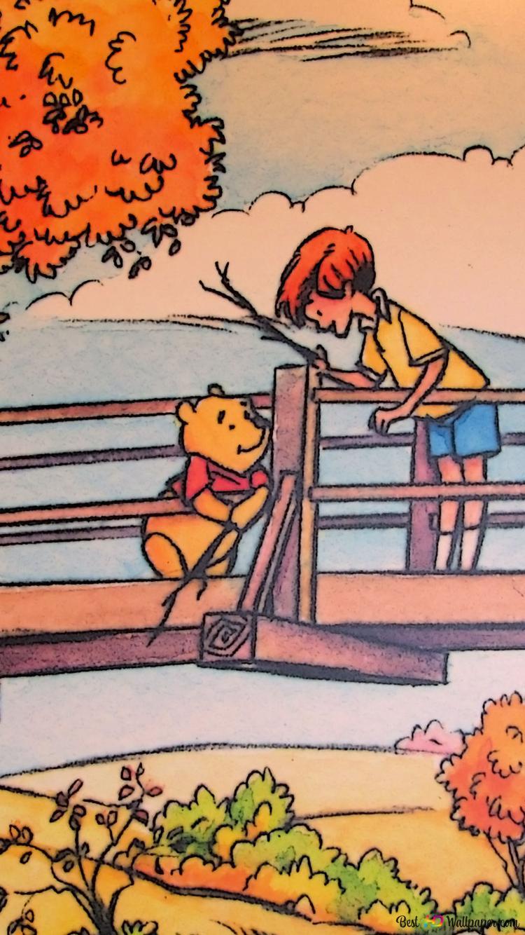 Winnie The Pooh Cartoon Hd Wallpaper Download