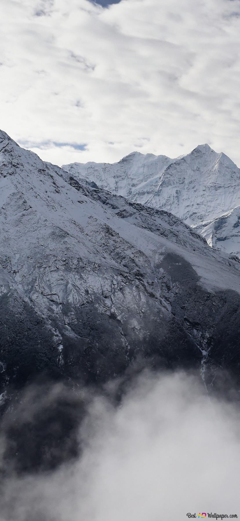 Winter Mountains Hd Wallpaper Download