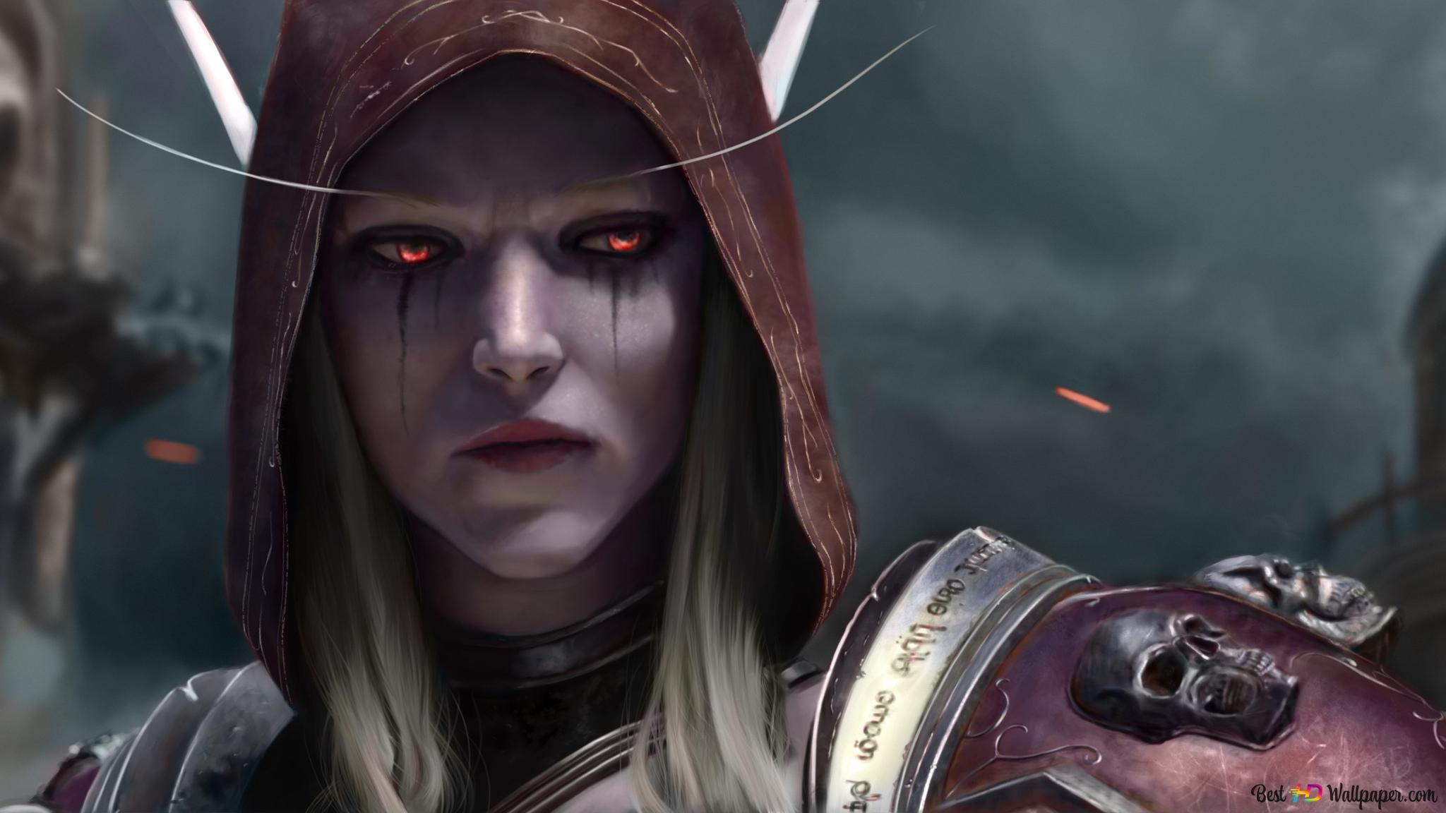 World Of Warcraft Battle For Azeroth Sylvanas Windrunner Hd