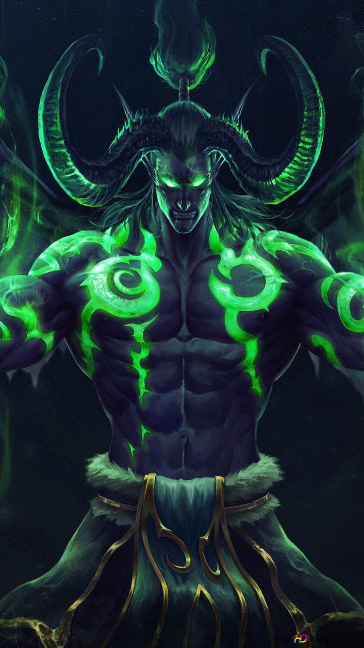 World Of Warcraft Illidan Stormrage Hd Wallpaper Download