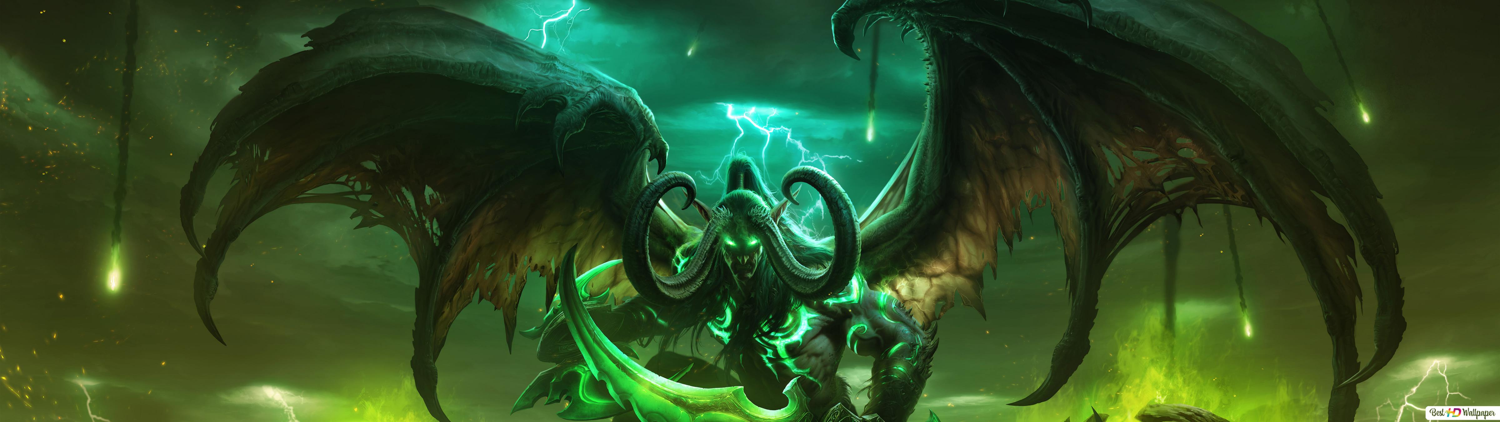 World Of Warcraft Legion Hd Wallpaper Download