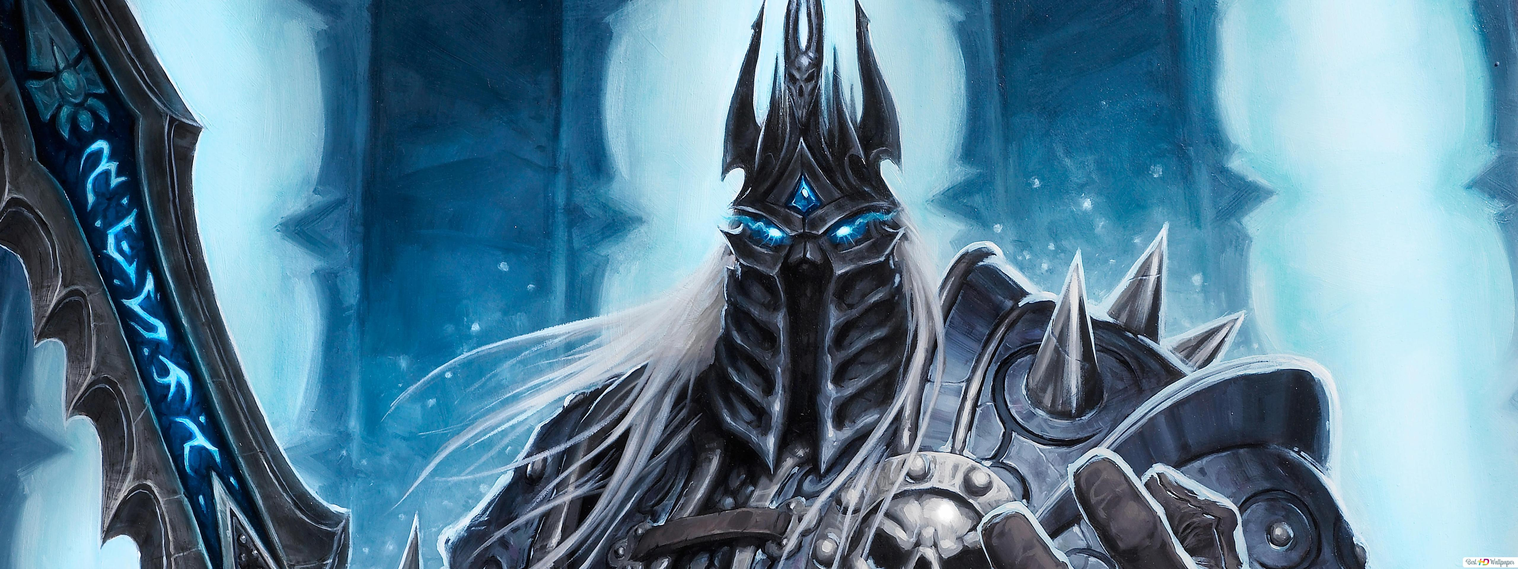 World Of Warcraft Lich King Hd Wallpaper Download