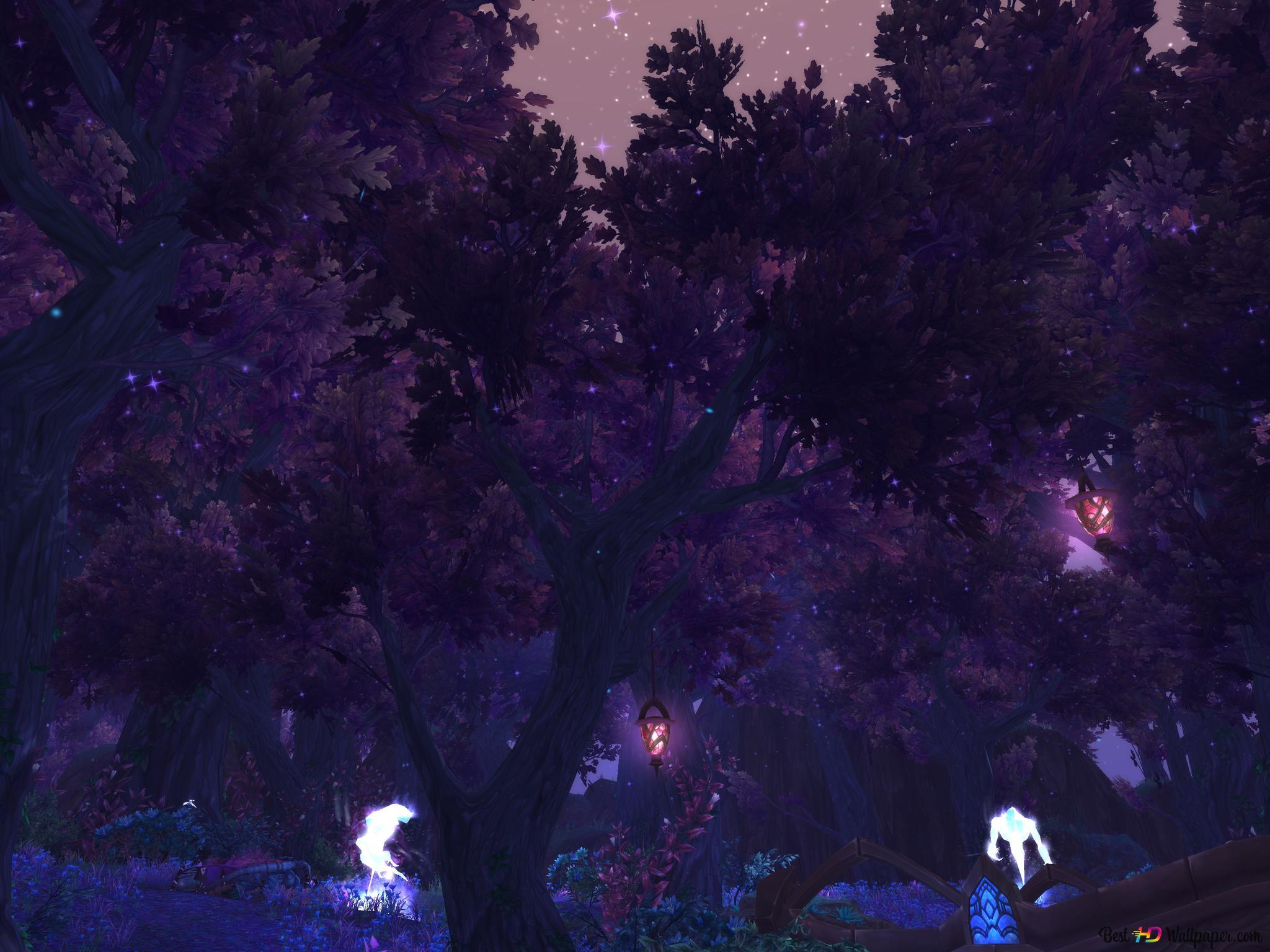 Descargar Fondo De Pantalla World Of Warcraft Mystic Forest Hd