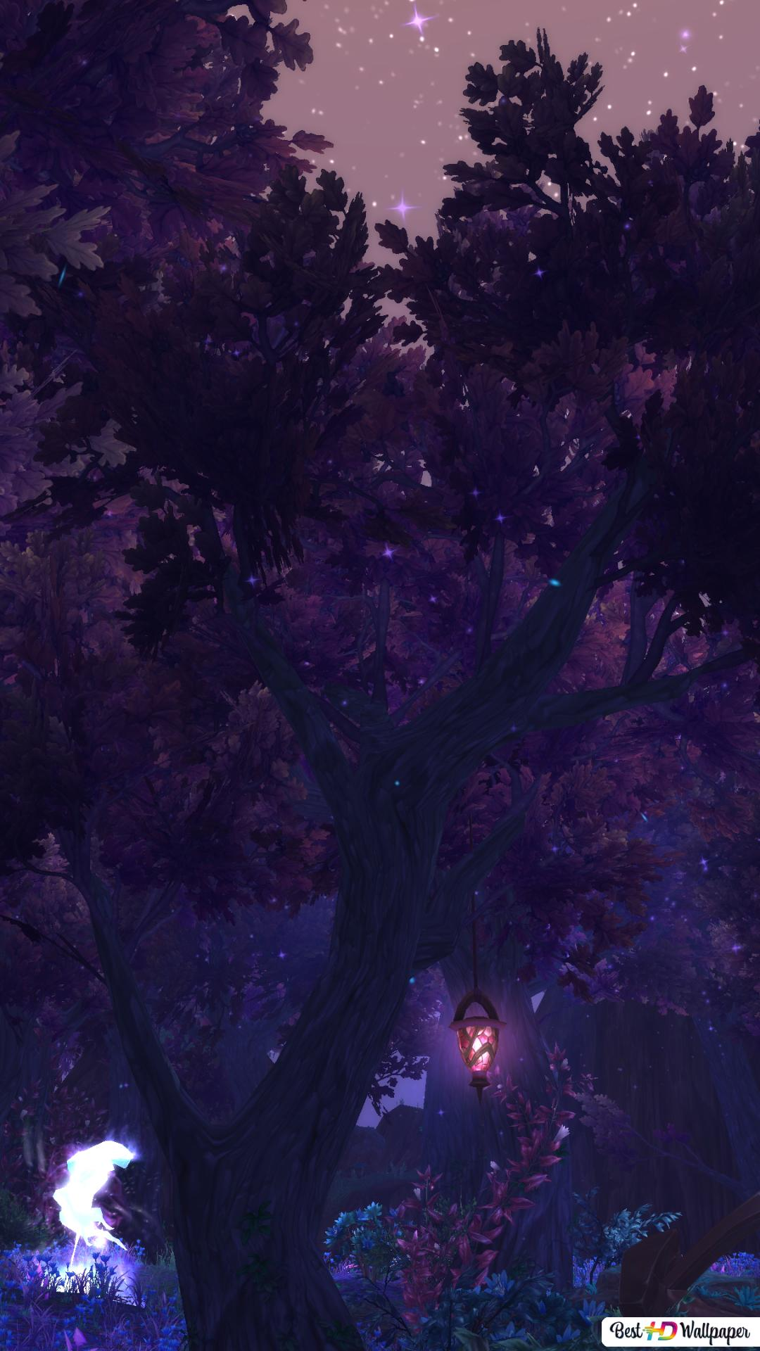 World Of Warcraft Mystic Forest Hd Wallpaper Download