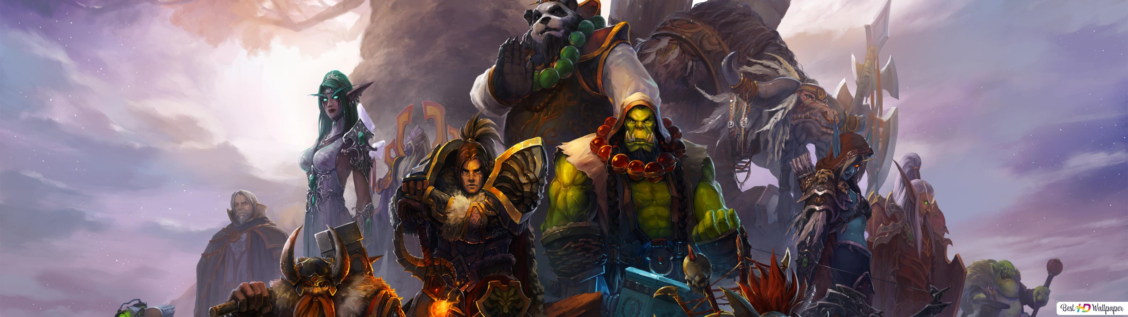 World Of Warcraft Orc Warrior Hd Wallpaper Download
