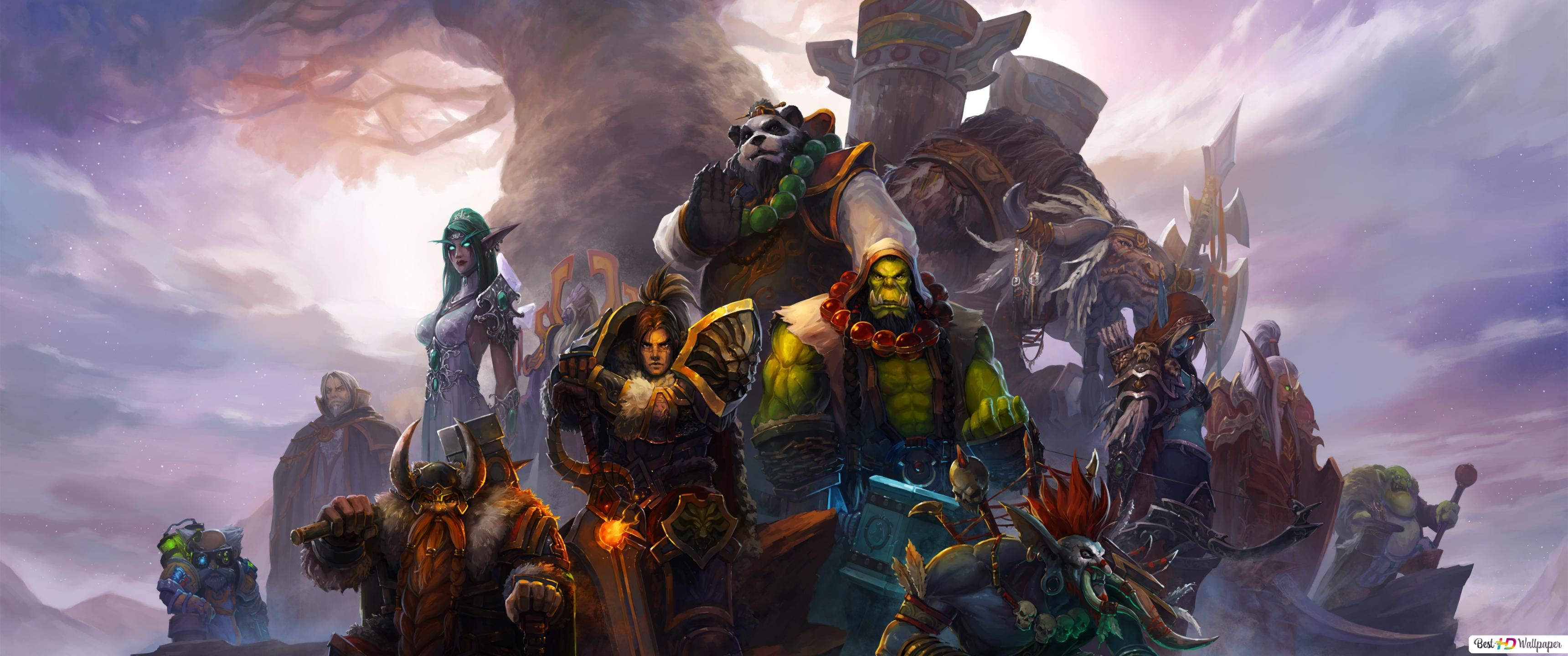 Descargar Fondo De Pantalla World Of Warcraft Orco Guerrero Hd