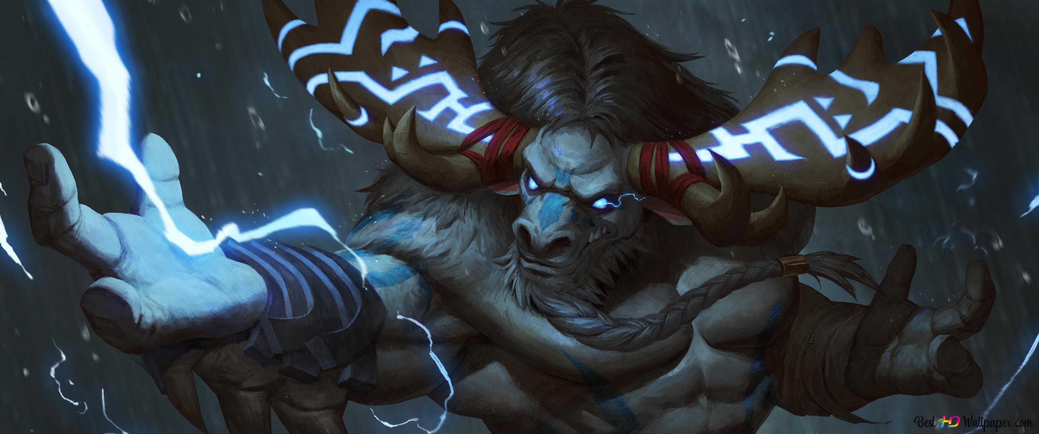 World Of Warcraft Tauren Hd Wallpaper Download