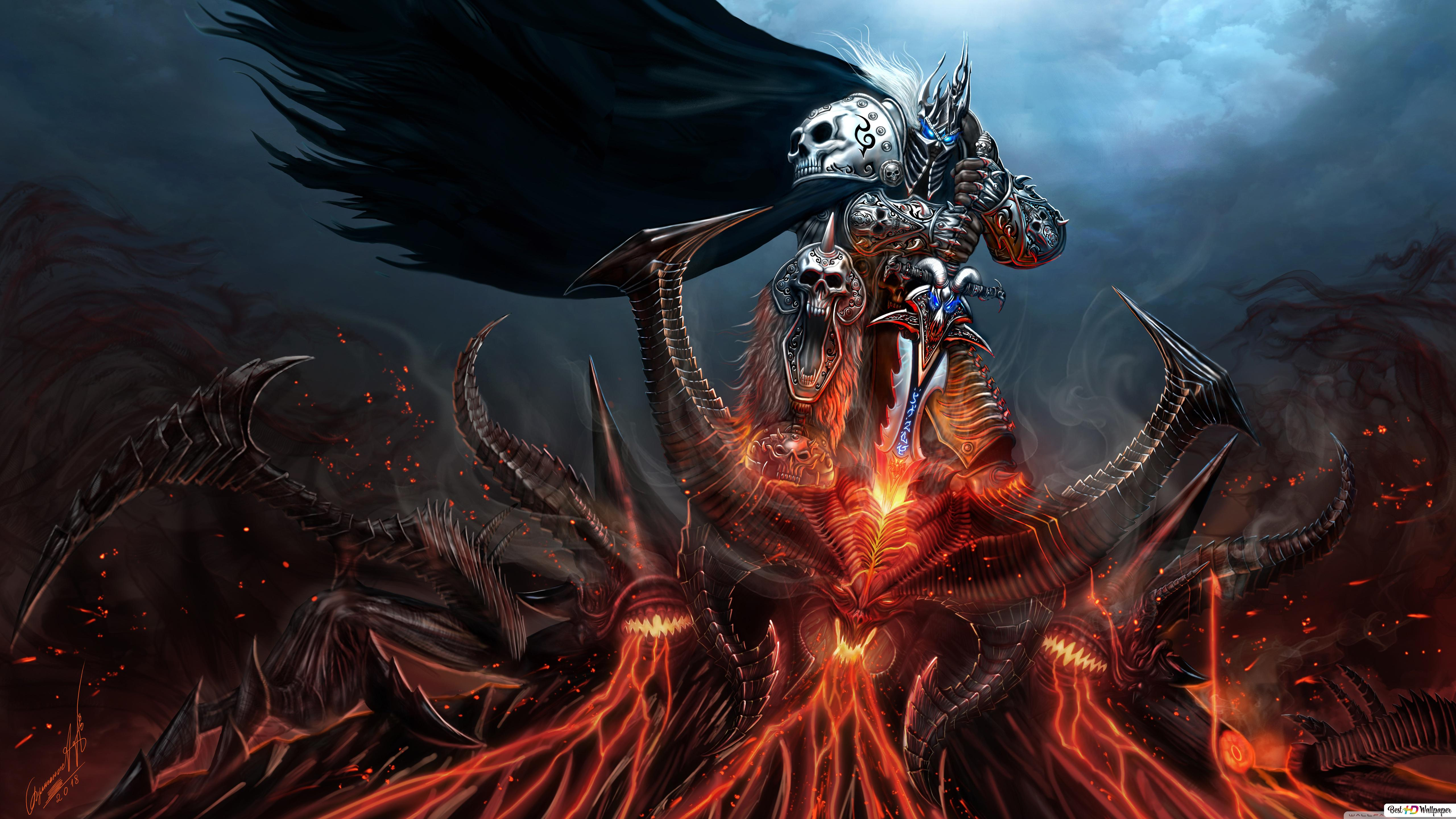 World Of Warcraft Wrath Of The Lich King Hd Wallpaper Download