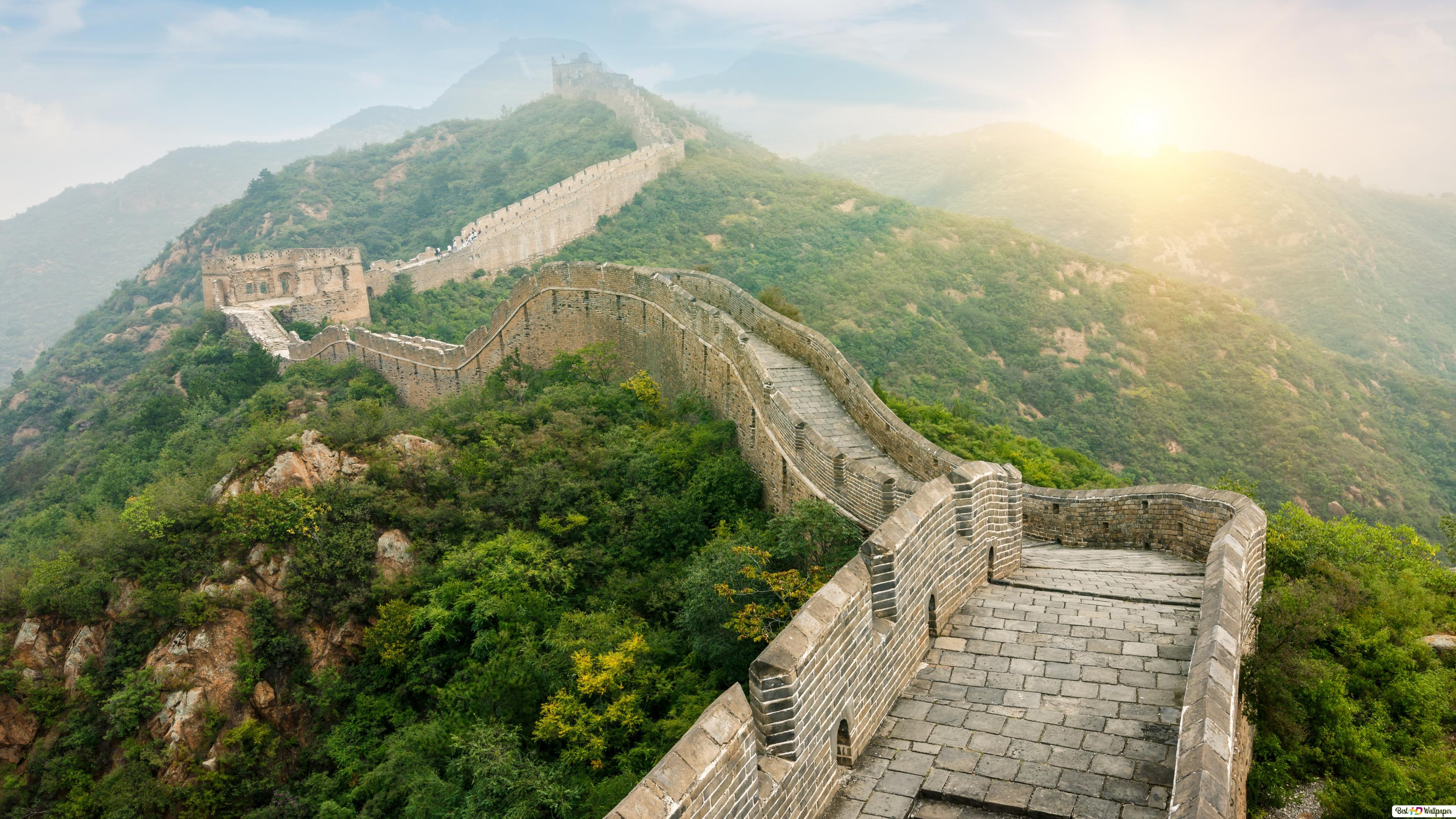 Worlds 7 Wonder The Great Wall Of China Hd Wallpaper Download