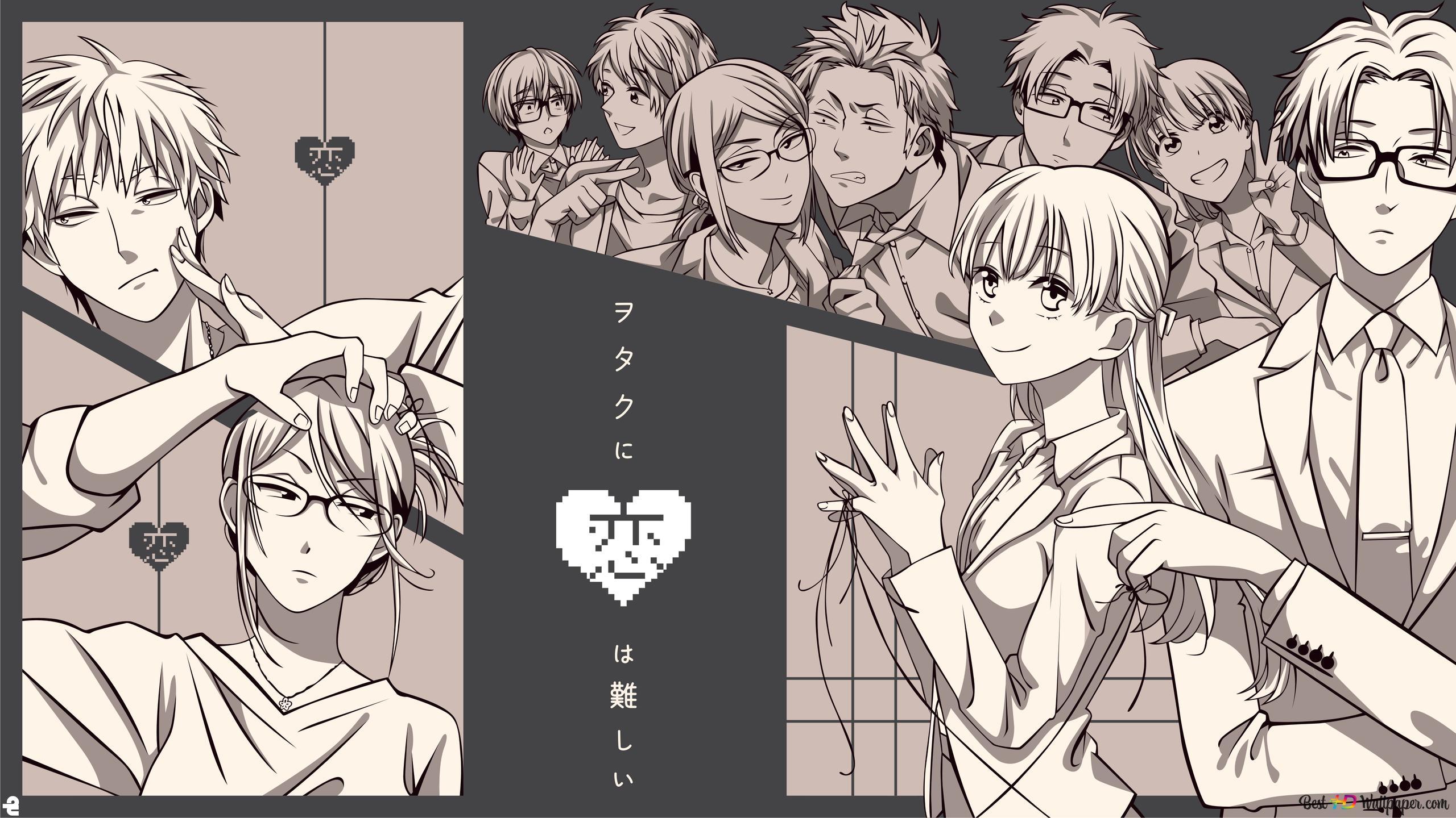 Wotaku Ni Koi Wa Muzukashii Hd Wallpaper Download