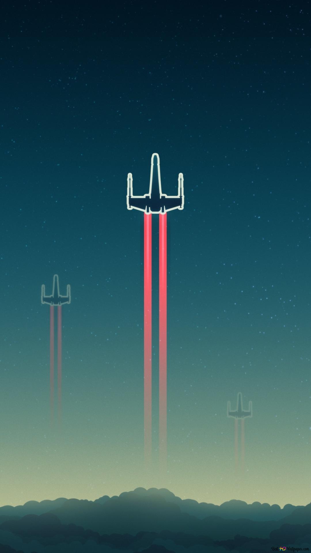 x wing starfighter star wars digital art wallpaper 1080x1920 42028 165