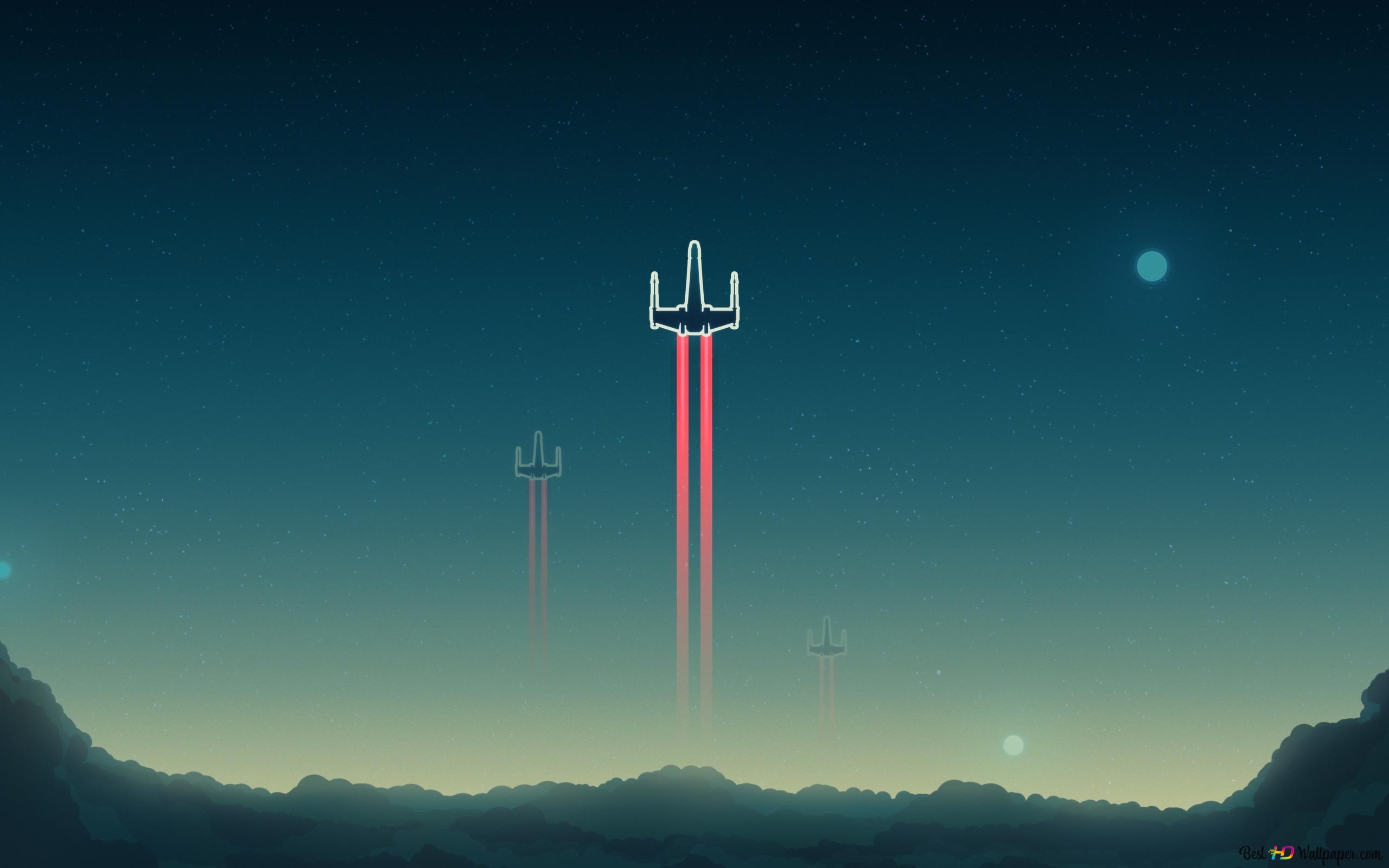 x wing starfighter star wars digital art wallpaper 2560x1600 42028 7