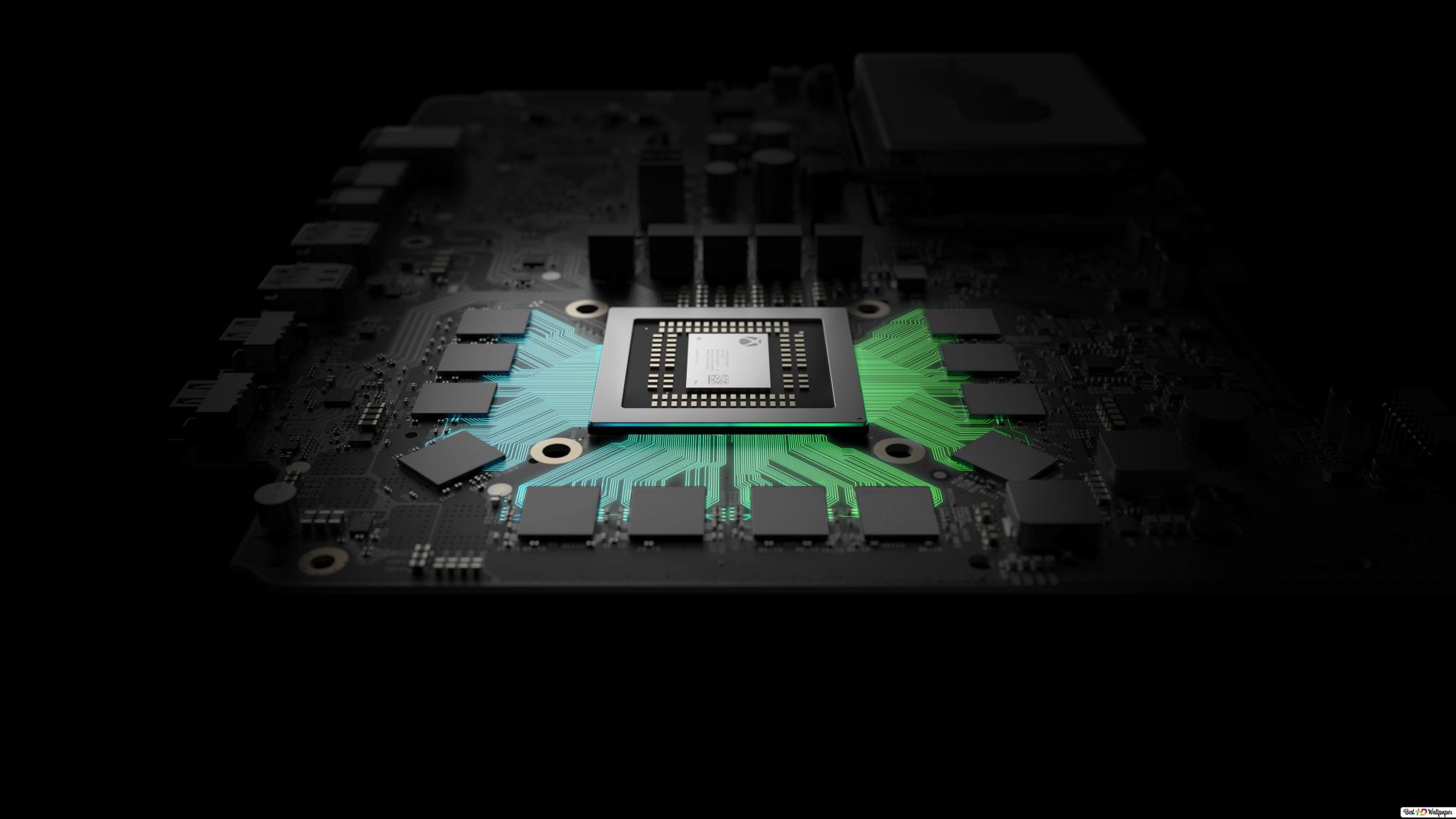 Xbox One X Gaming Console Hardware Hd Wallpaper Download