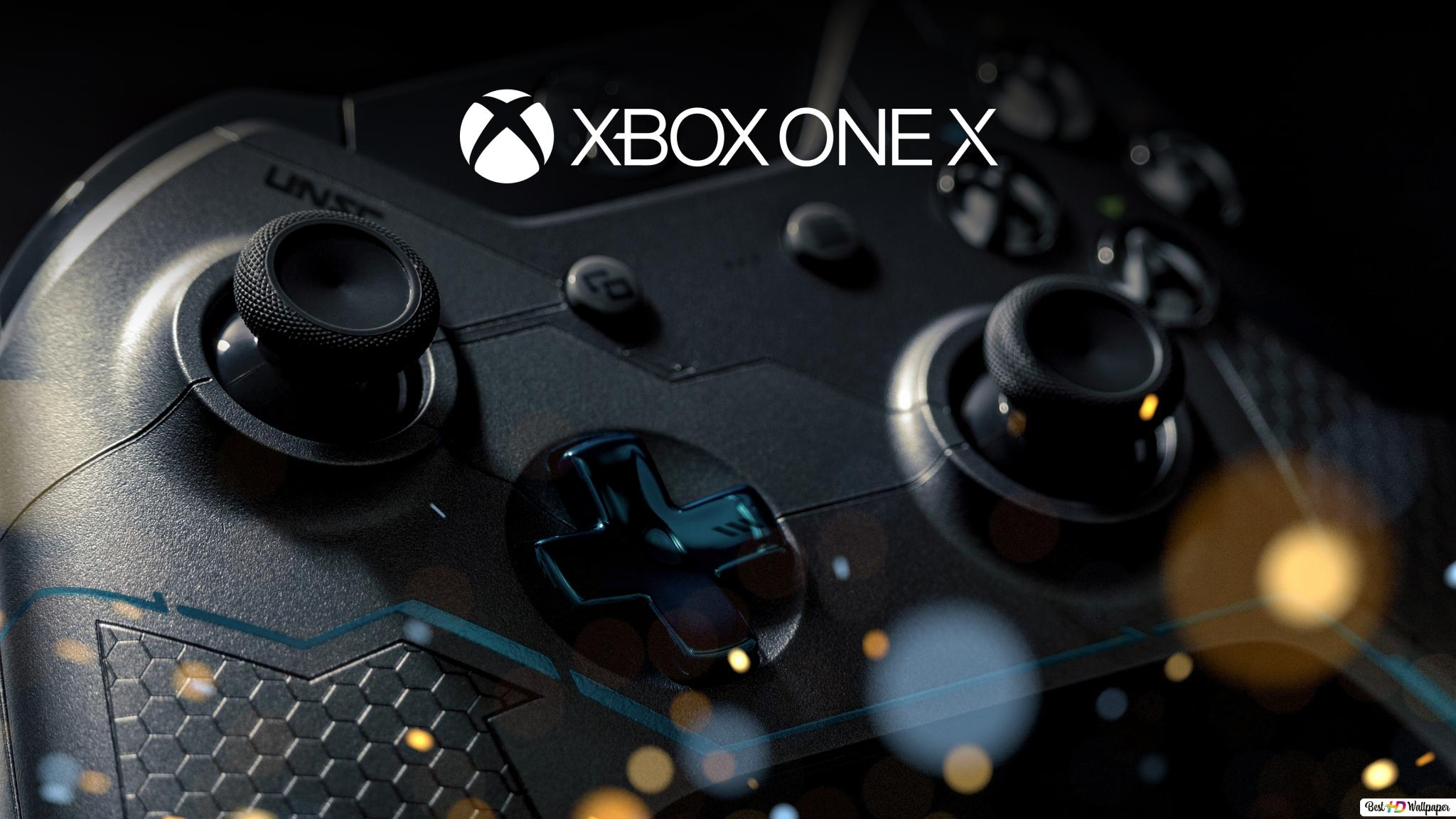 Xbox One X Gaming Console Hd Wallpaper Download