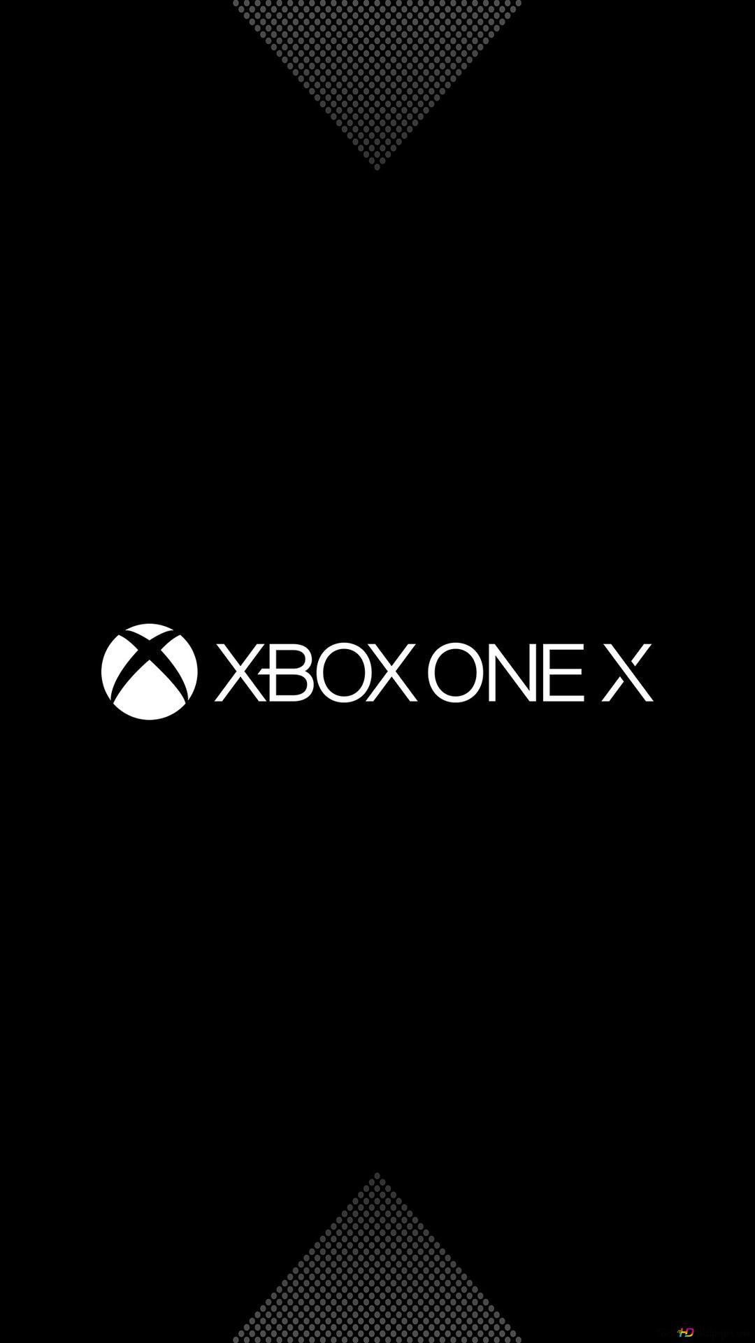 Xbox One X Logo Hd Wallpaper Download