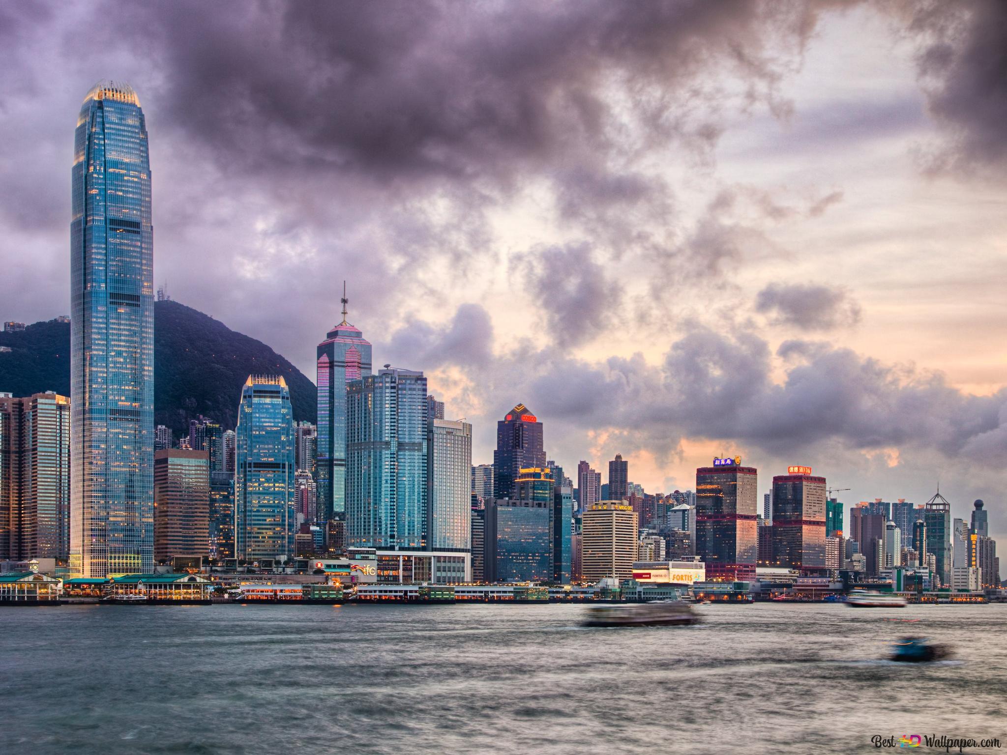 香港城高清壁紙下載
