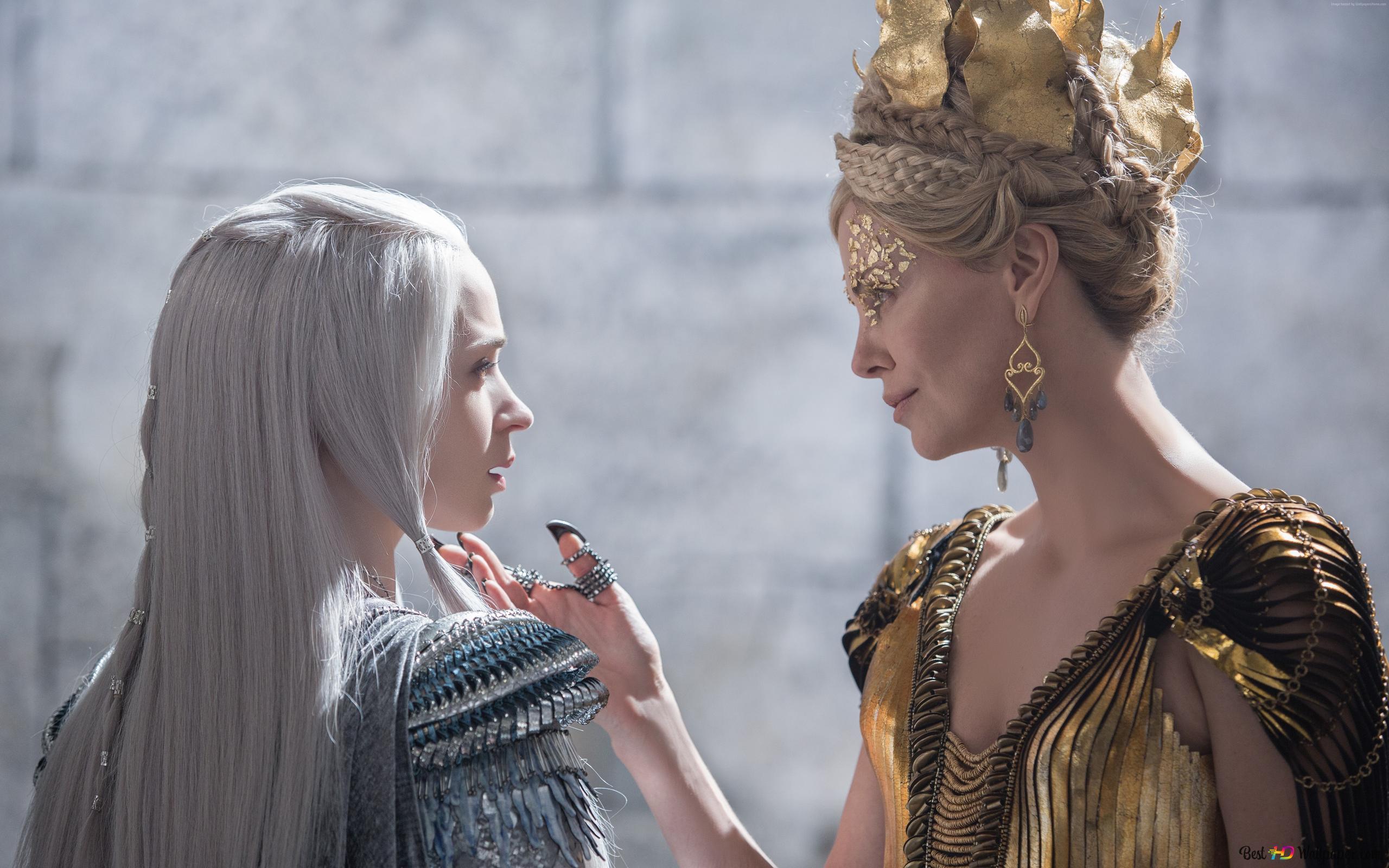 邪惡的皇后滿足冰美人高清壁紙下載