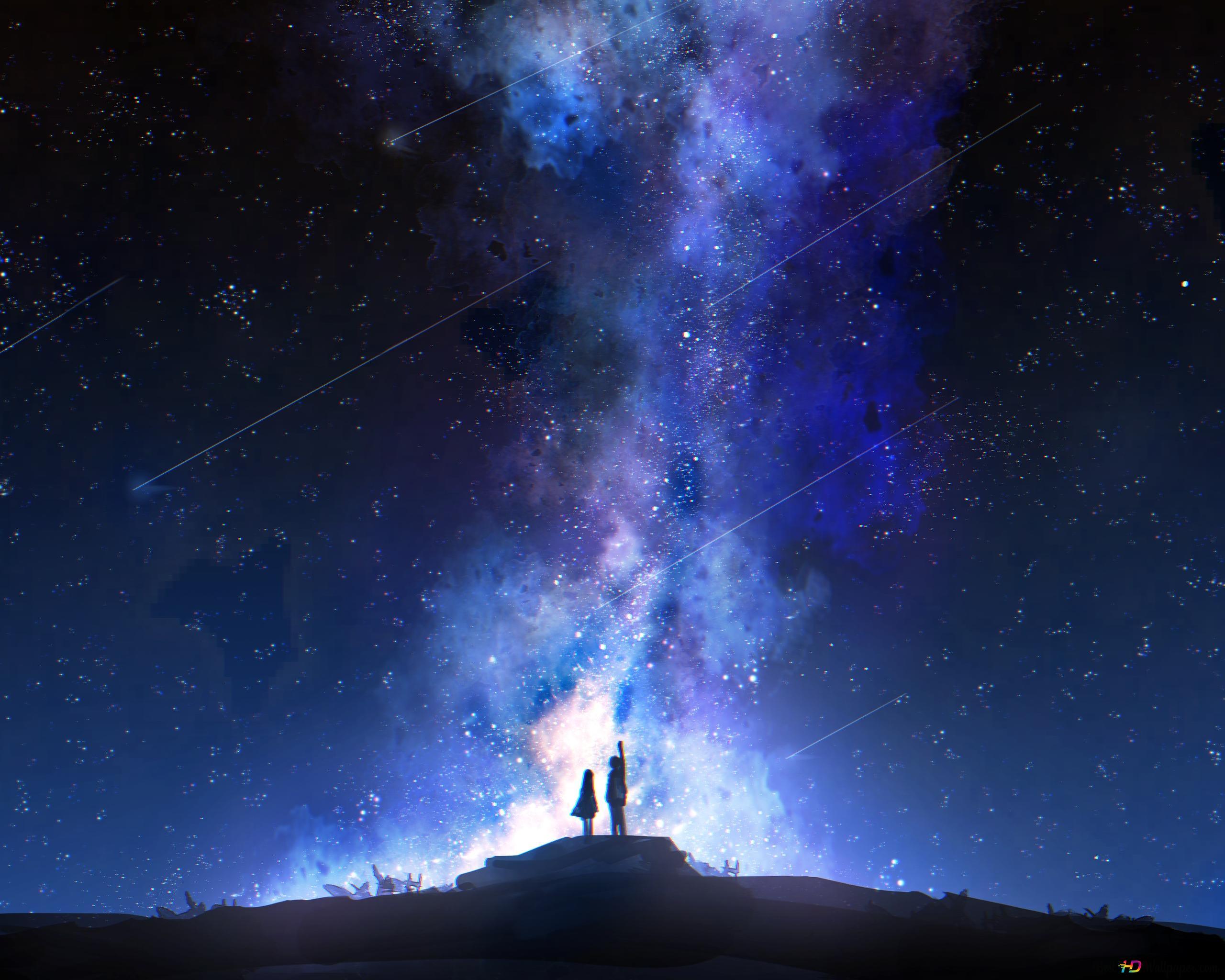 星空视图高清壁纸下载