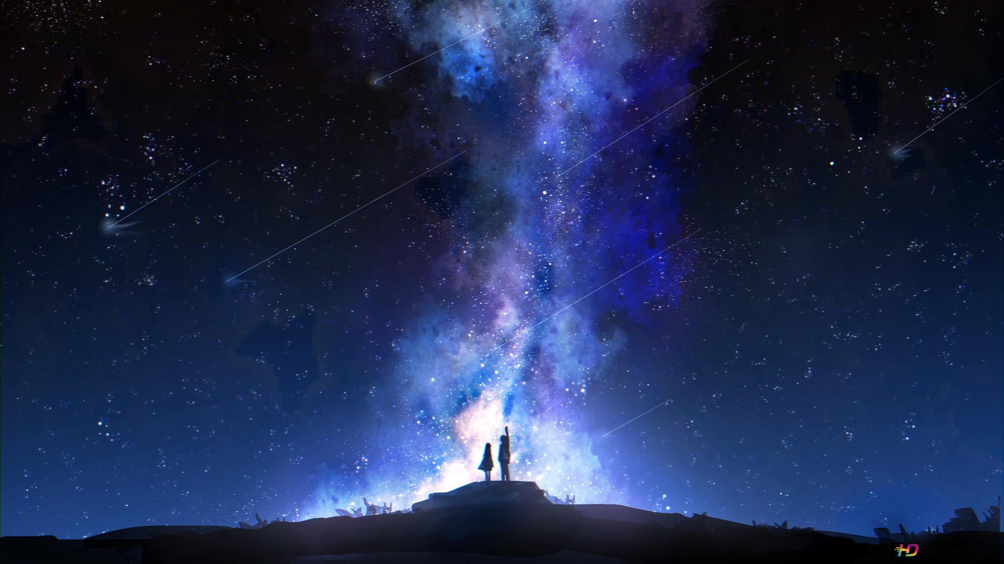 星空視圖高清壁紙下載