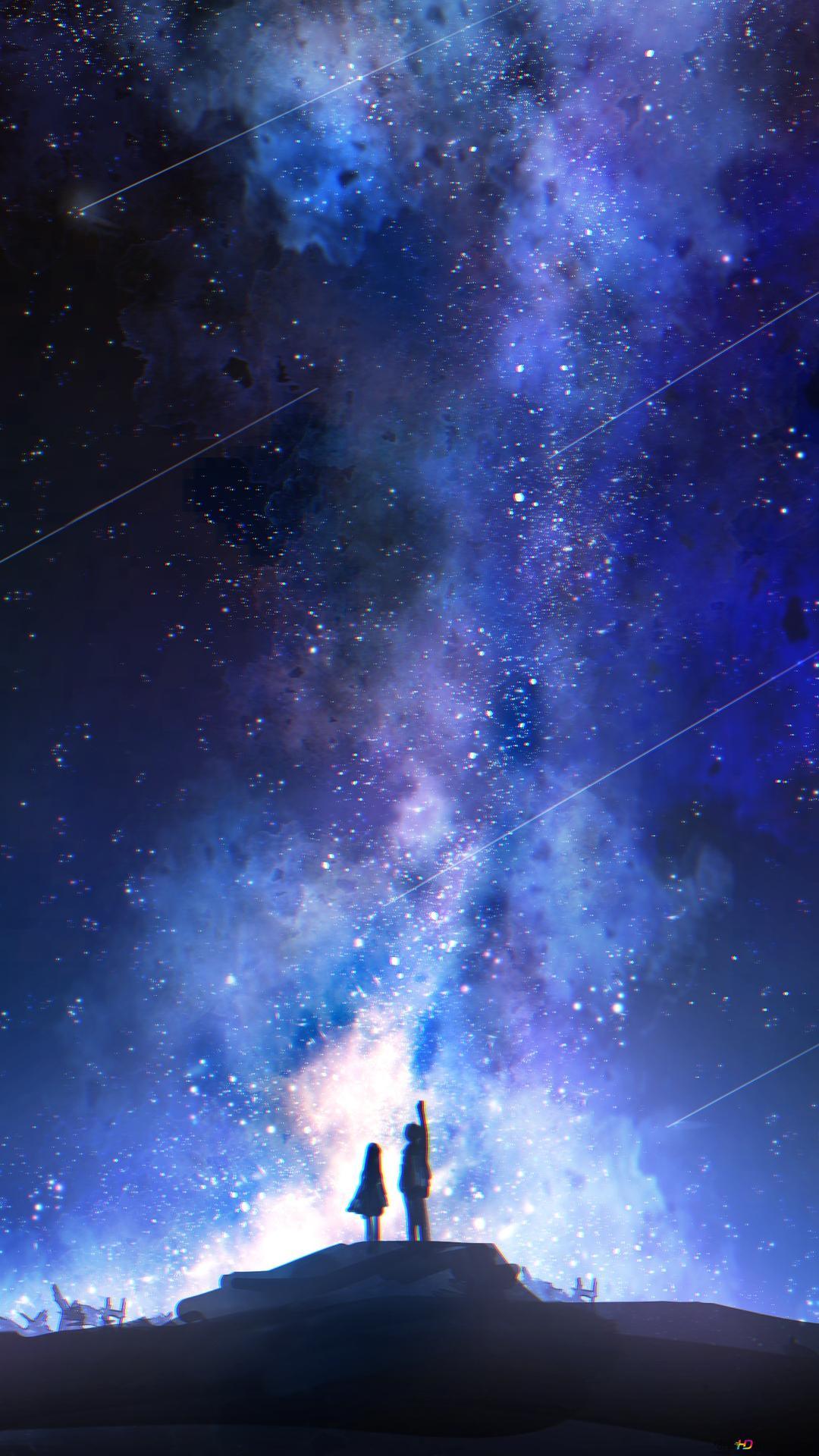 星空を見ます Hd壁紙のダウンロード