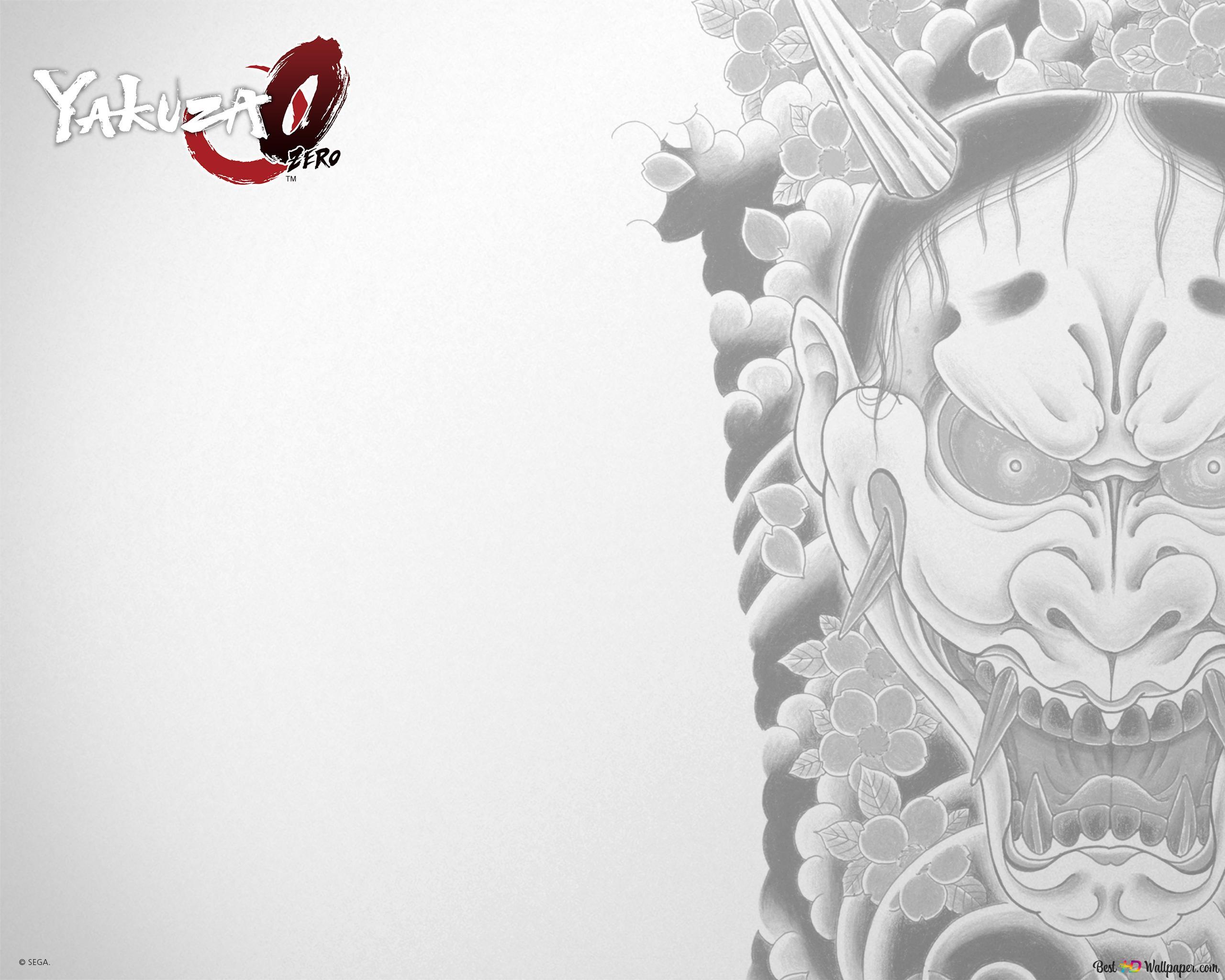 Yakuza Dragon Tattoo Wallpaper