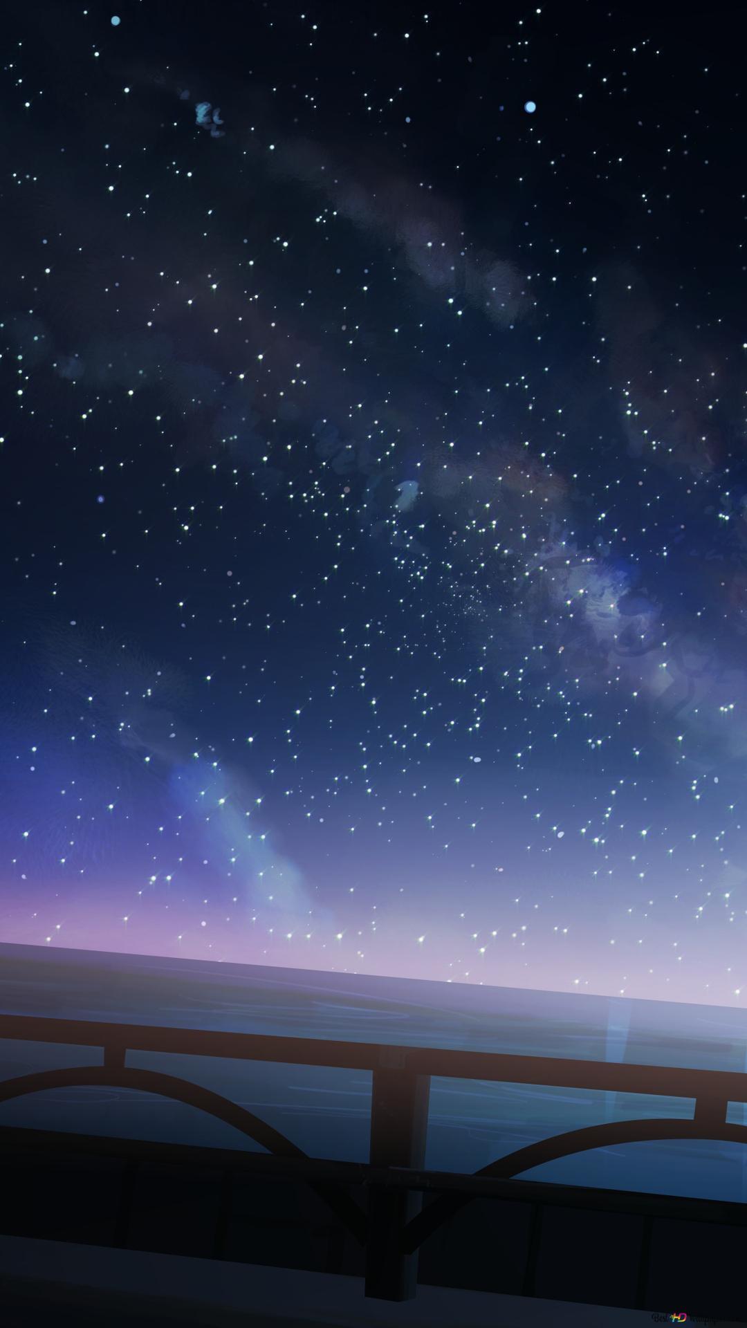 夜の星空 Hd壁紙のダウンロード
