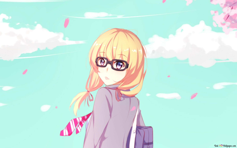 Your Lie In April Kaori Miyazono Hd Wallpaper Download