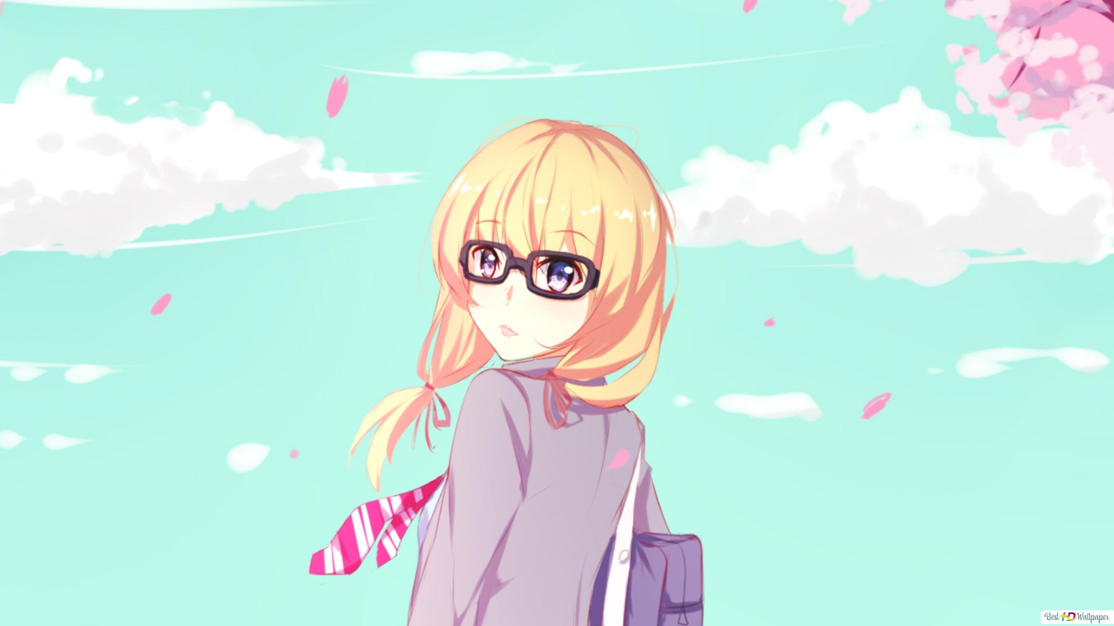 Your Lie In April Kaori Miyazono Hd Wallpaper Download