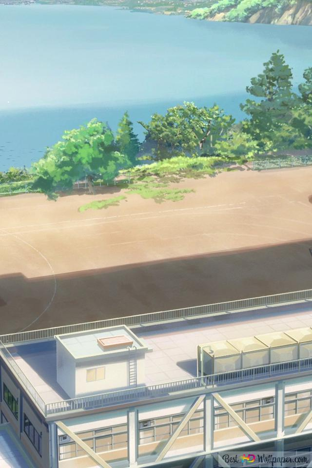 Your Name Schoolyard Hd Wallpaper Download